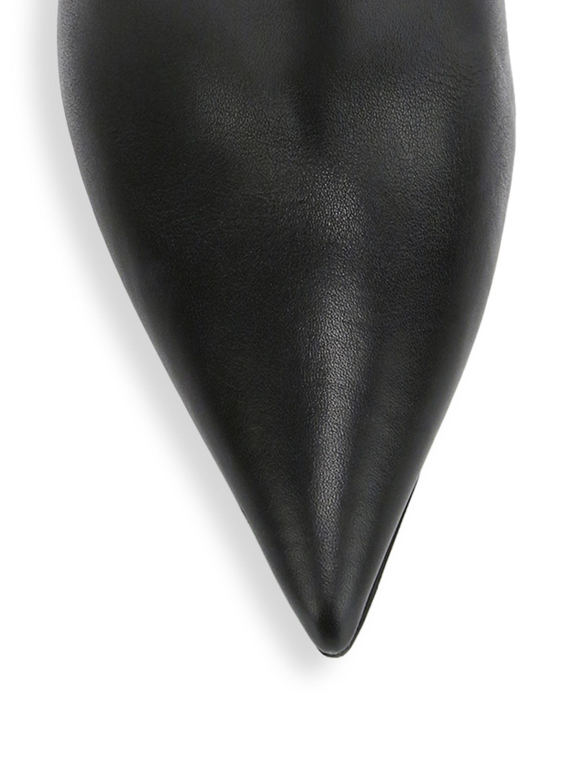 6cf7b57f29c Jimmy Choo - Black Mavis Tall Leather Boots - Lyst. View fullscreen