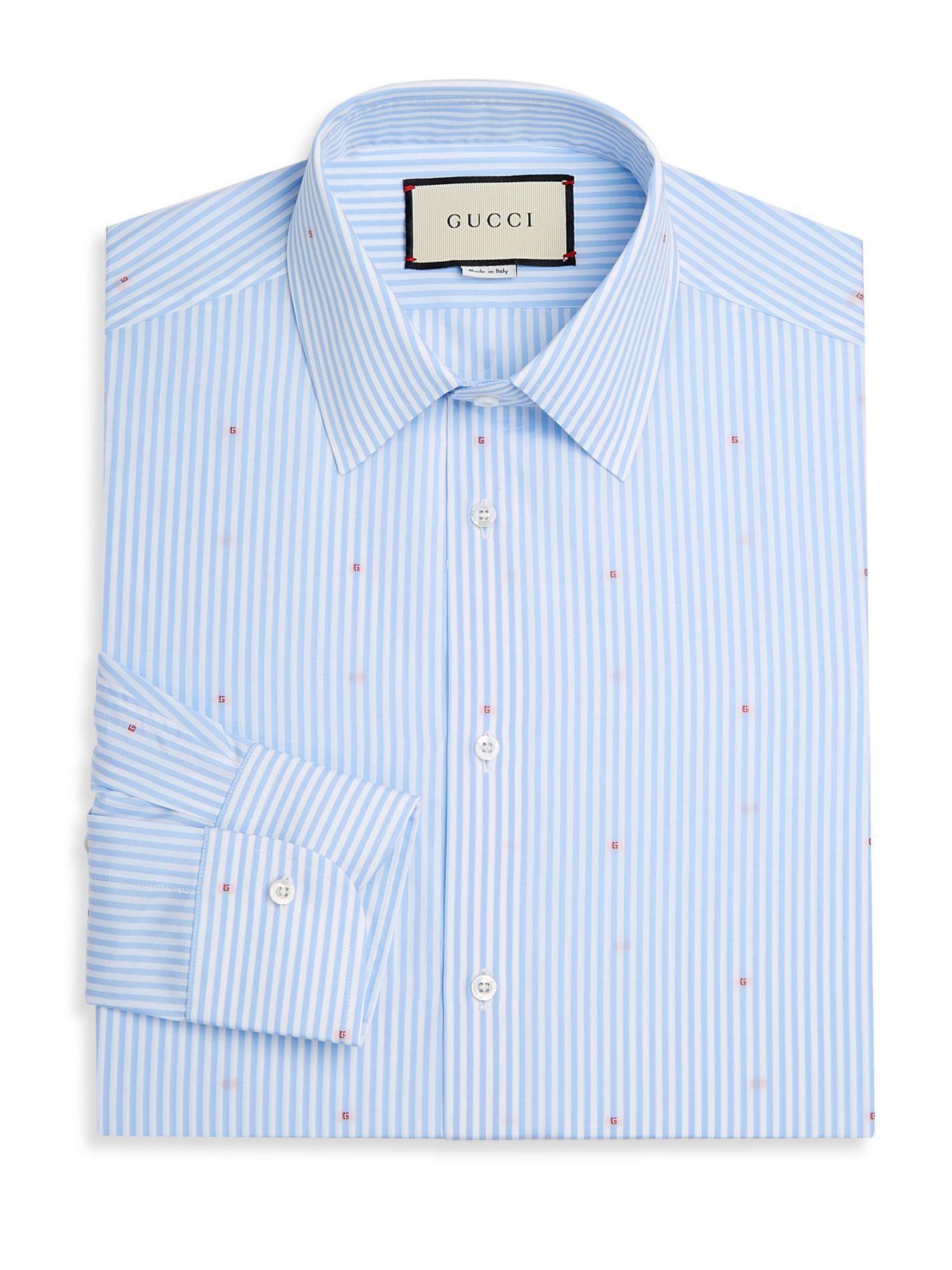 Micro-g Stripe Fil Coupé Shirt