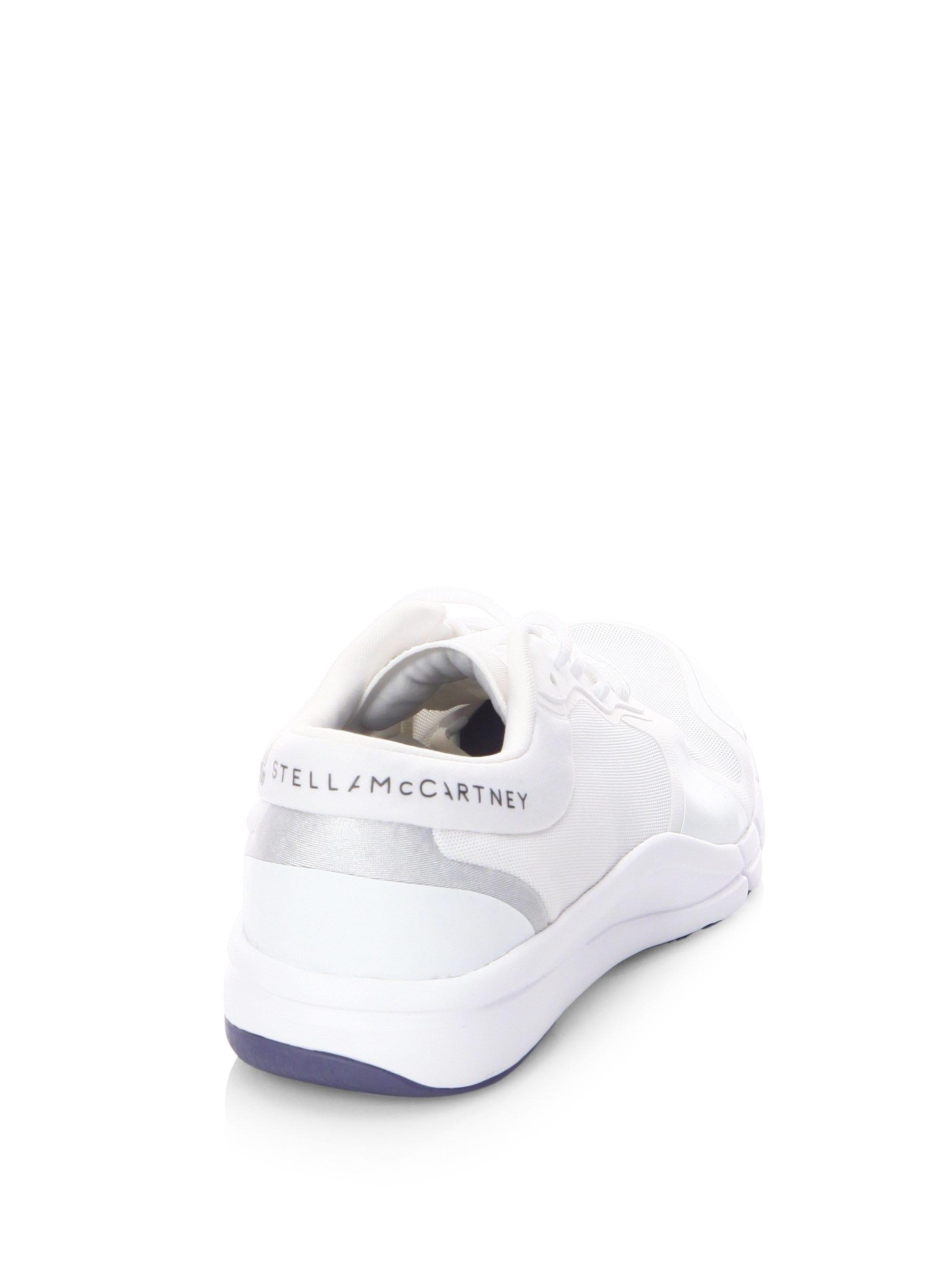 f73c90ecc46f Adidas By Stella McCartney - White Adipure Trainer Sneakers - Lyst. View  fullscreen