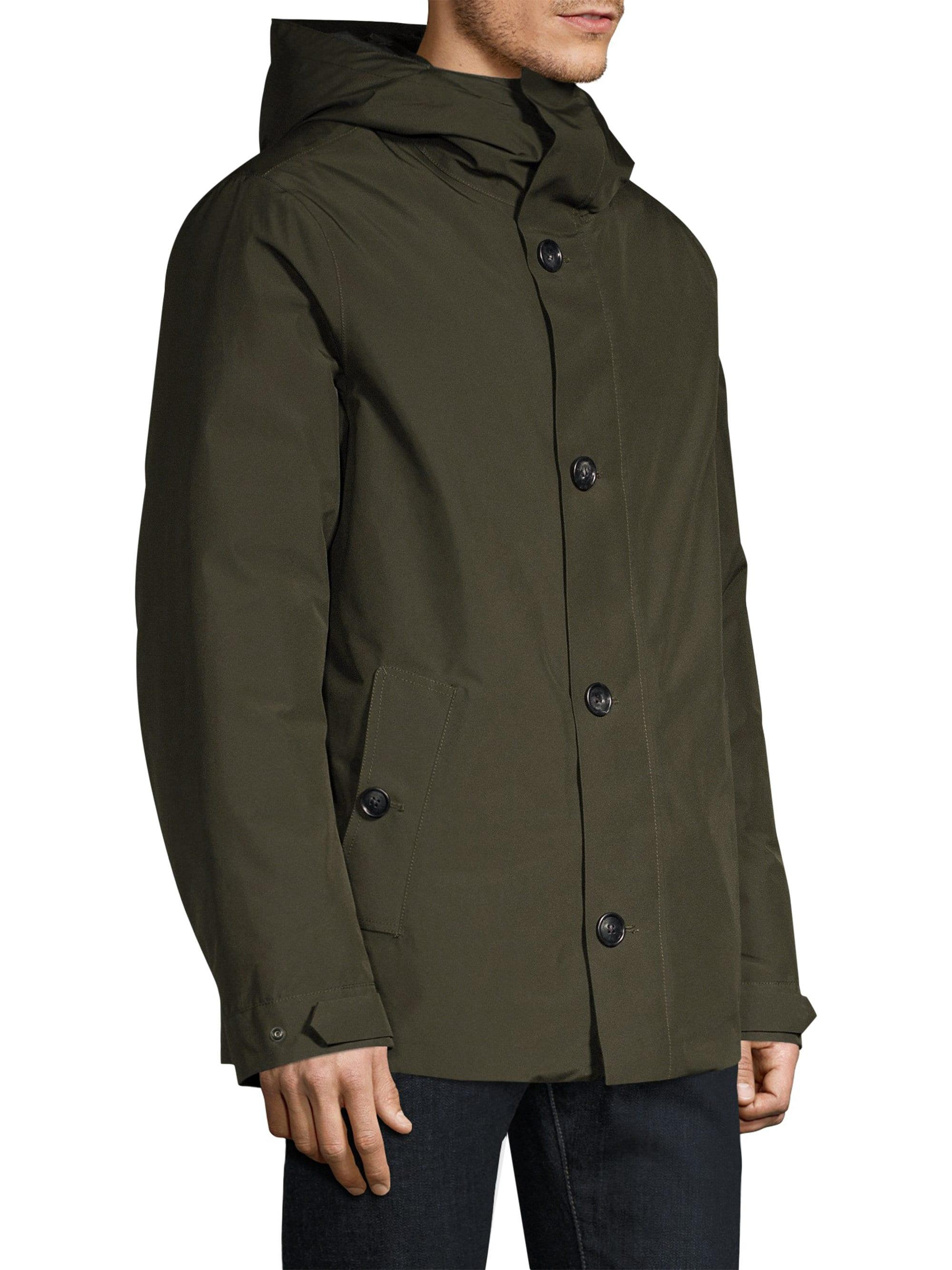 0c4dc6a6a697 Lyst - Woolrich Gtx Alpine Duck Down   Feather Fill Jacket in Green ...