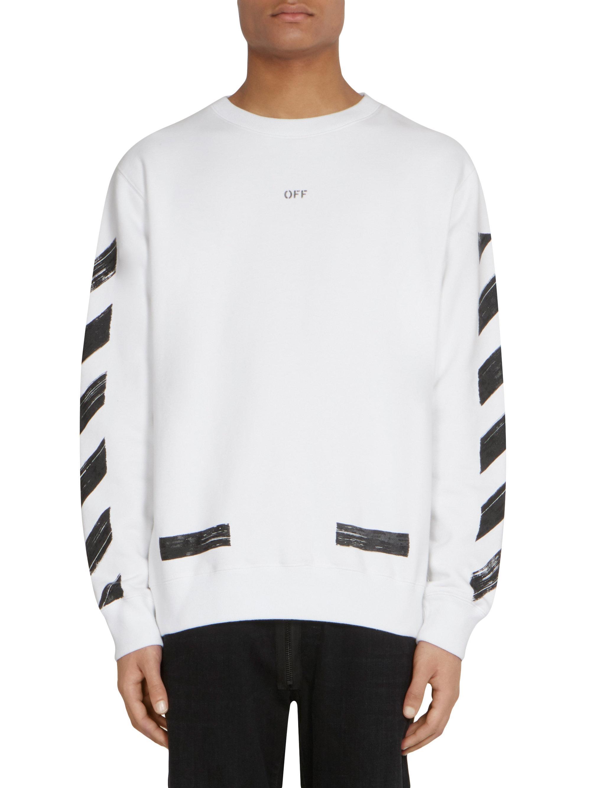Parity Off White Crew Sweatshirt Up To 64 Off [ 2667 x 2000 Pixel ]