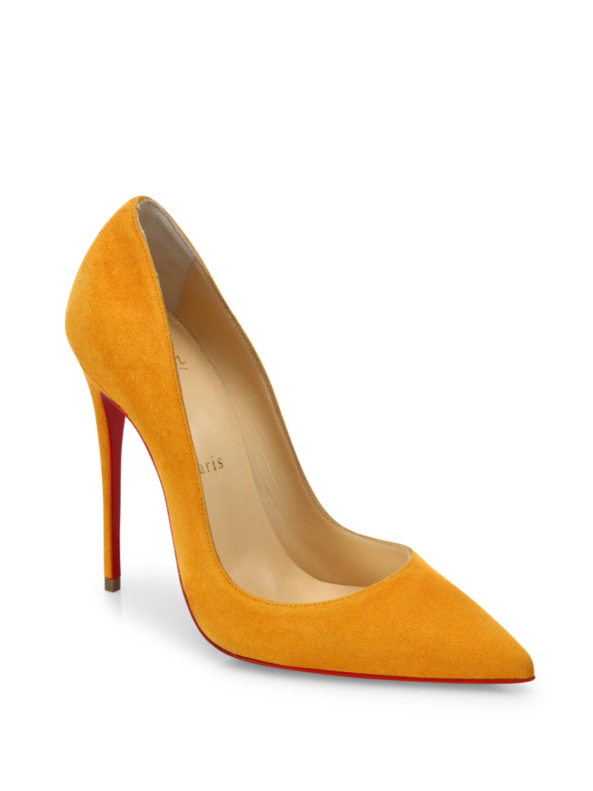 Christian Louboutin So Kate Suede 120mm