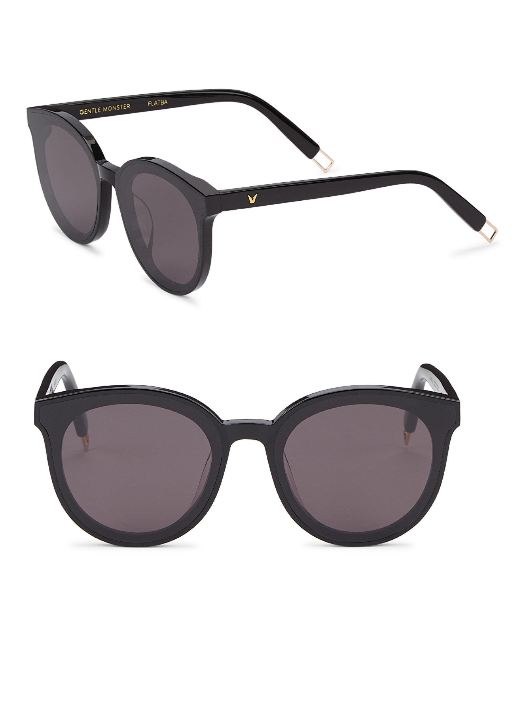 dc084749c8 Lyst - Gentle Monster Peter 41mm Round Sunglasses in Black for Men