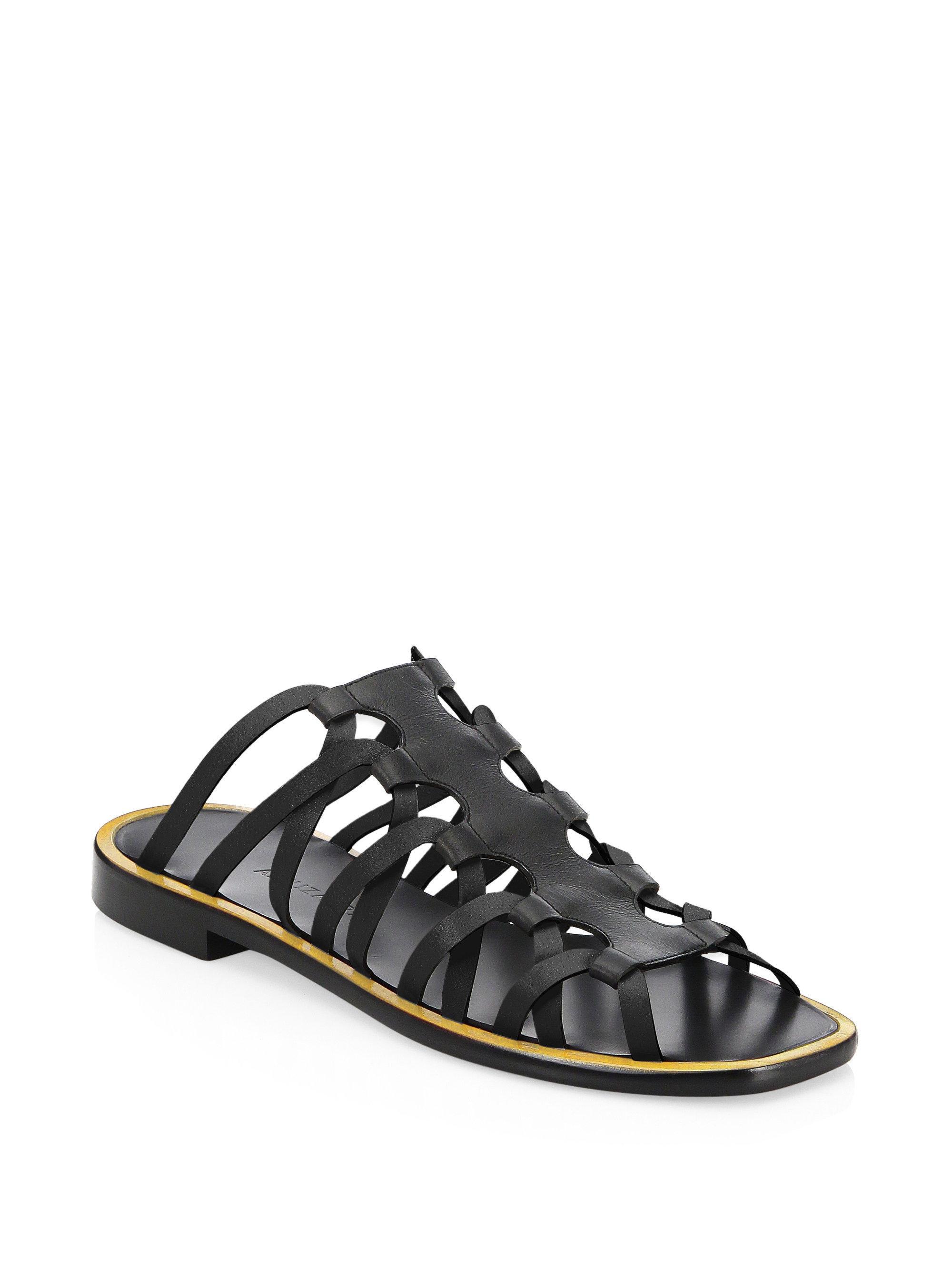 Altuzarra Strappy Leather Slides zP0EAsYAX