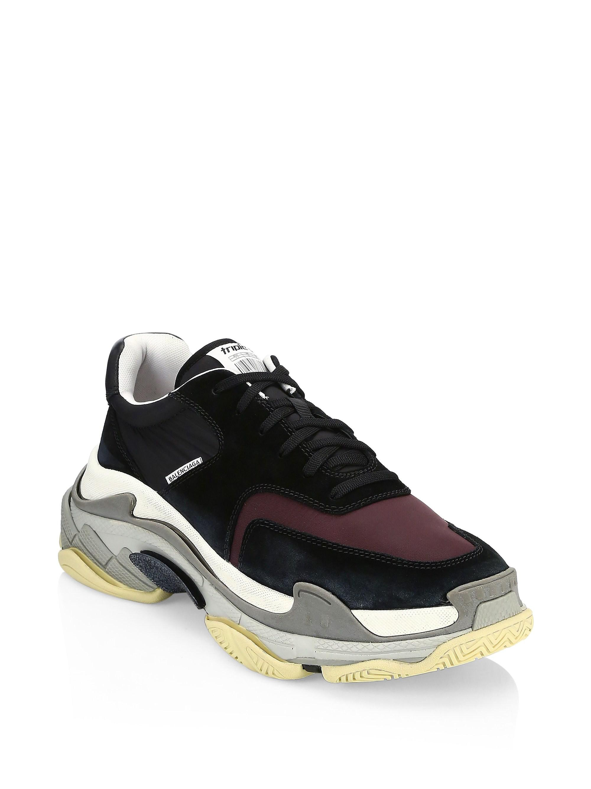 836a3c47760a View  new product 97231 83332 Balenciaga. Men s Triple S Trainer Sneakers  ...