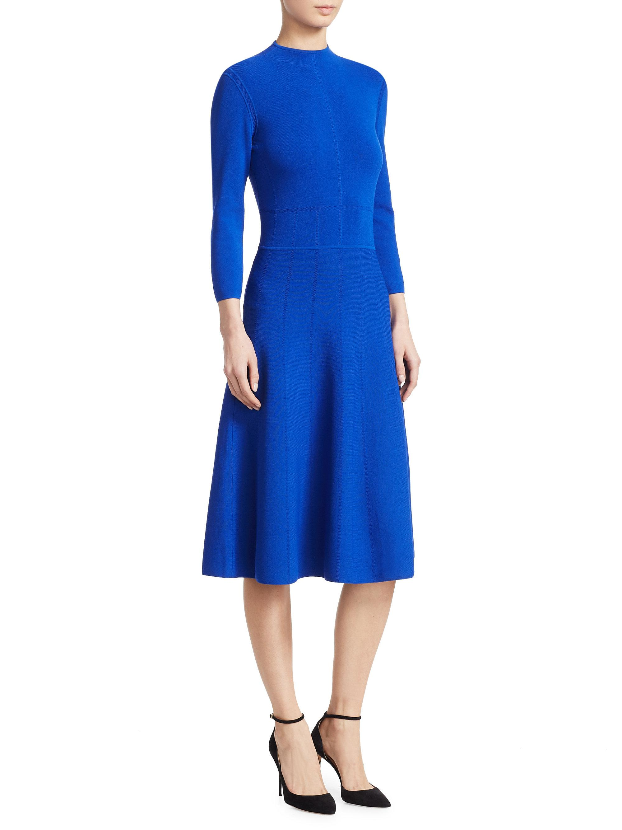 eternal-sv.tk: navy blue knit dress. This super comfy jersey knit dress has a rounded neckline and long iconic luxe Women's Fit and Flare Midi Dress with Pockets in Solid and Floral - Made in USA. by iconic luxe. $ - $ $ 17 $ 19 99 Prime. FREE Shipping on eligible orders.