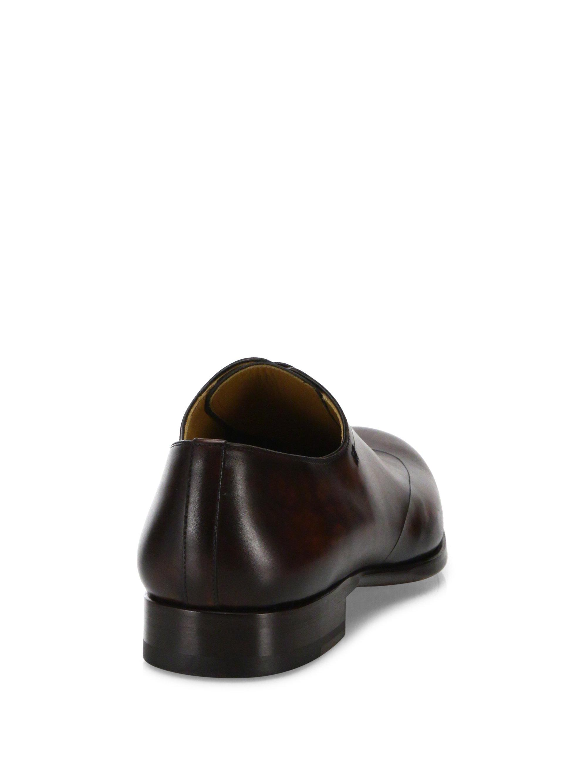 Saks Fifth AvenueCOLLECTION BY MAGNANNI Laser-Cut Lace-Up Dress Shoes hjH9m