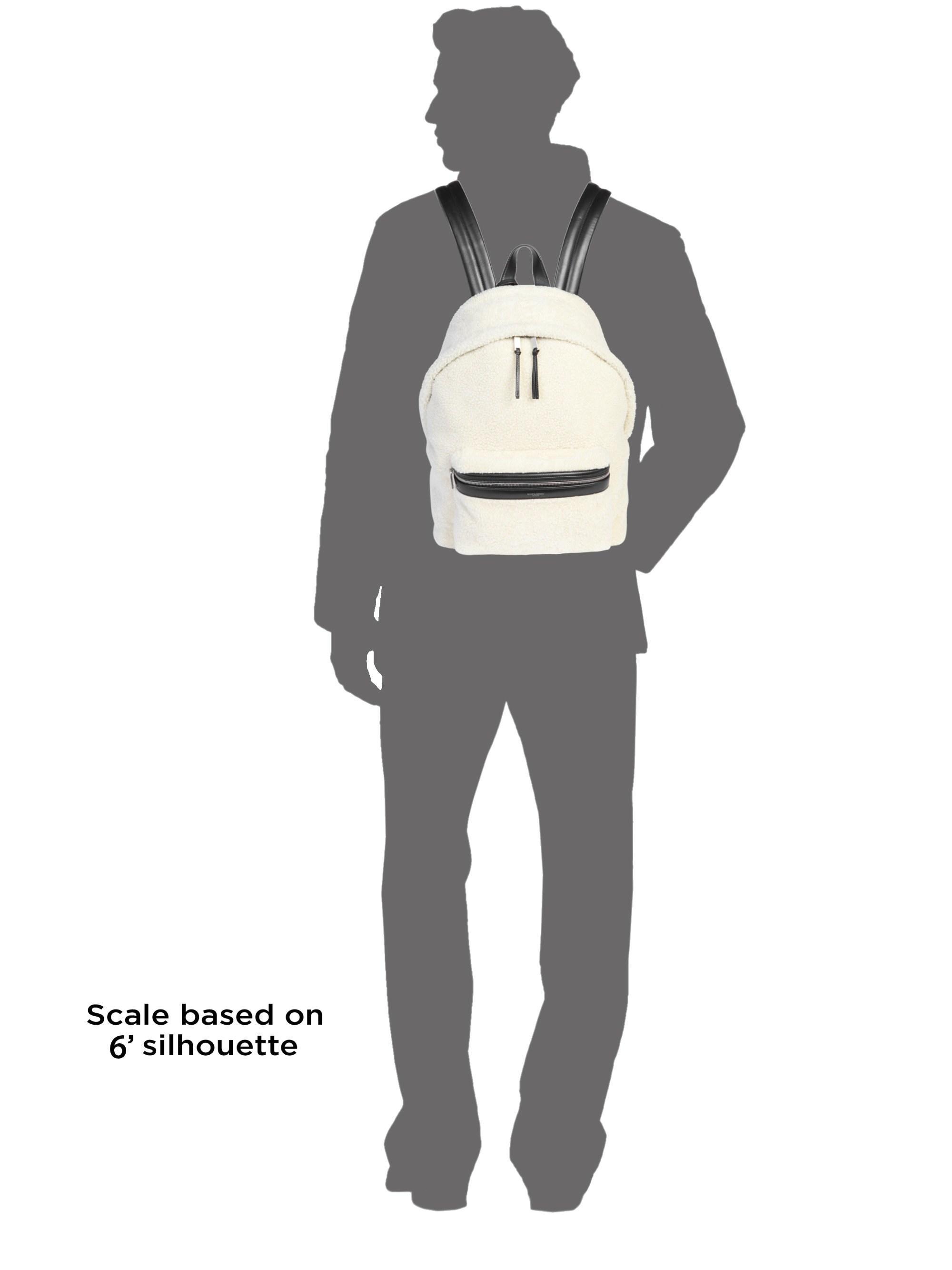 7679c4da4 Lyst - Saint Laurent Classic Zip City Backpack in Black for Men