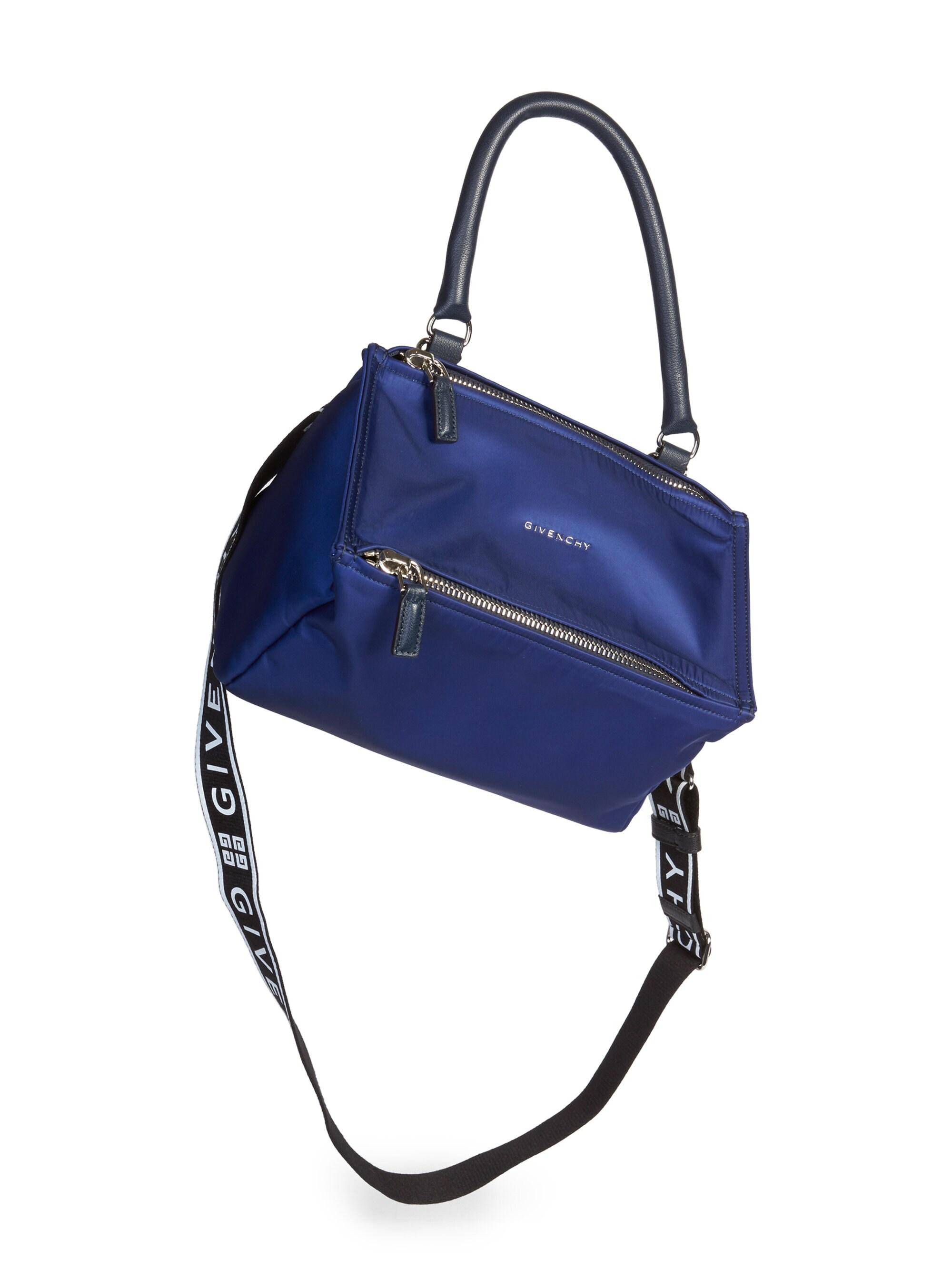2bc7160607ca1 Givenchy Small Pandora Crossbody Bag in Blue - Lyst