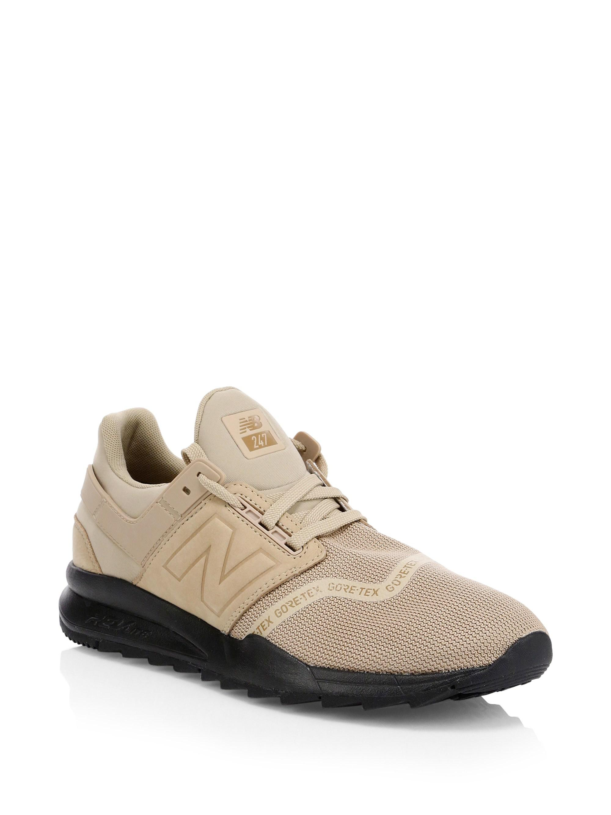 945fc14e2ffa4 New Balance 247 Gore-tex Sneakers in Natural for Men - Lyst