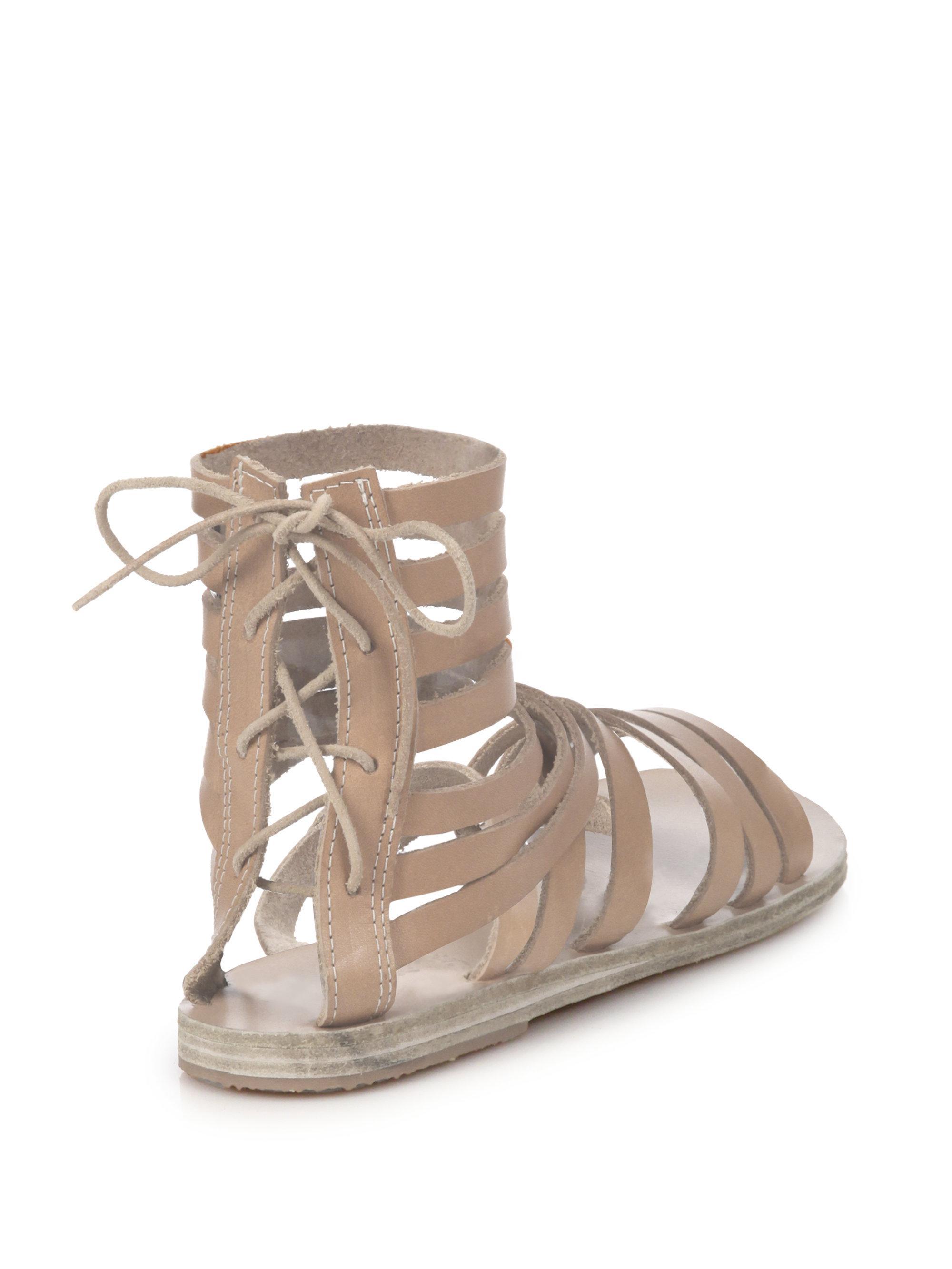 Galatia Lace-Back Gladiator Sandals Ancient Greek Sandals Gcq03KCmOy