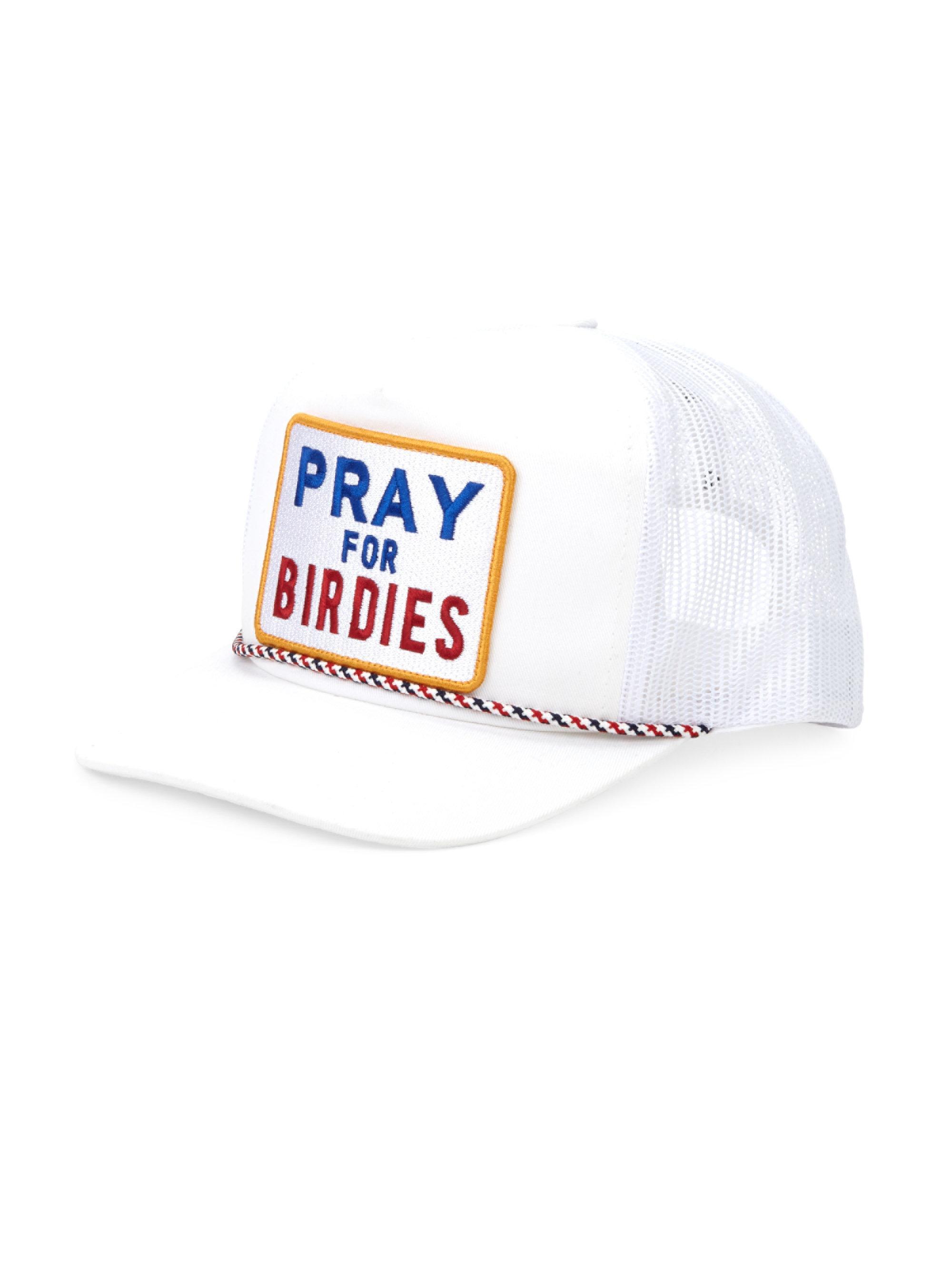 05b40bdf65d Lyst - G FORE Graphic Trucker Hat in White for Men