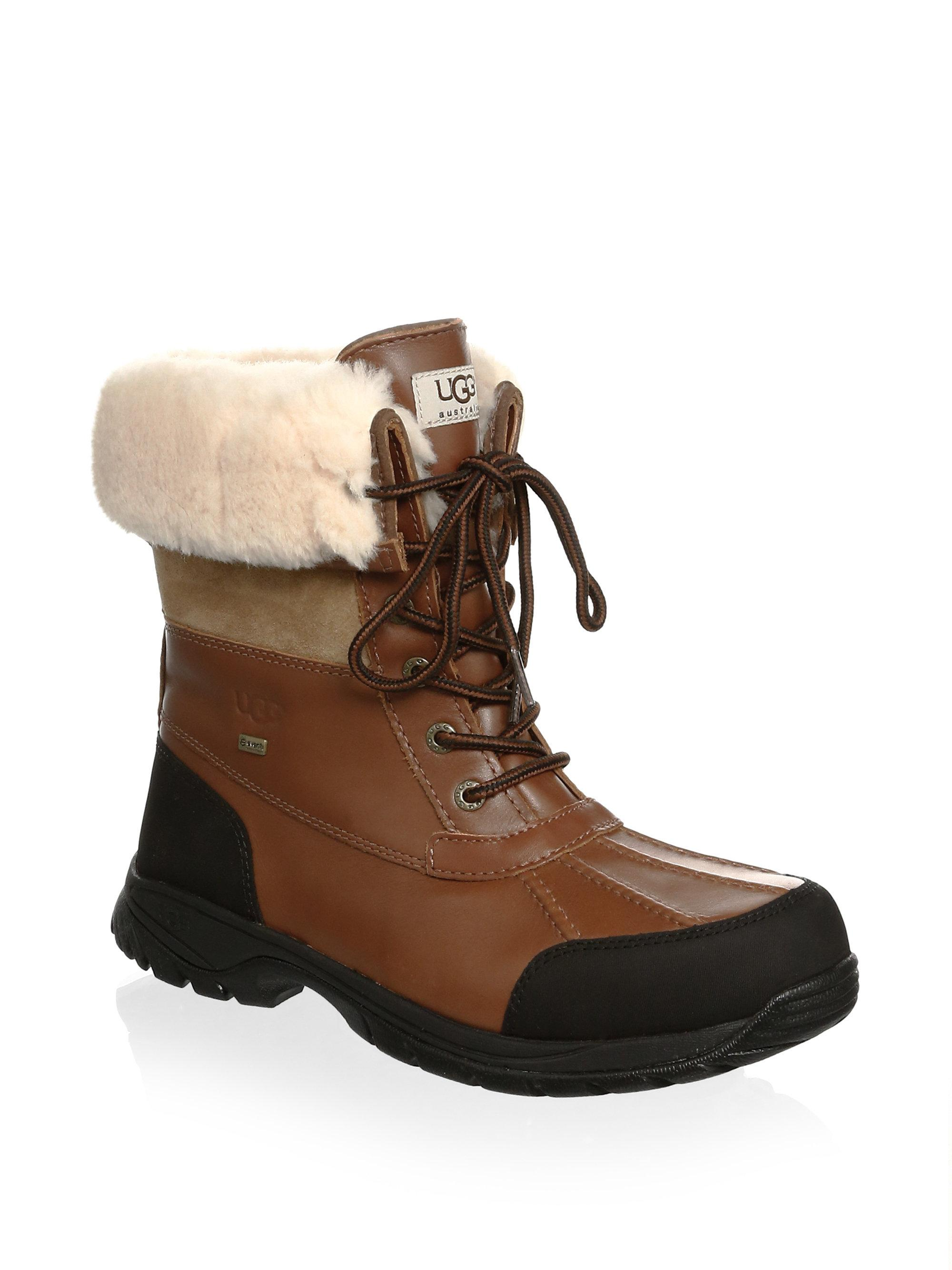 UGG Butte Sheepskin Leather Boots 3mlZBcH