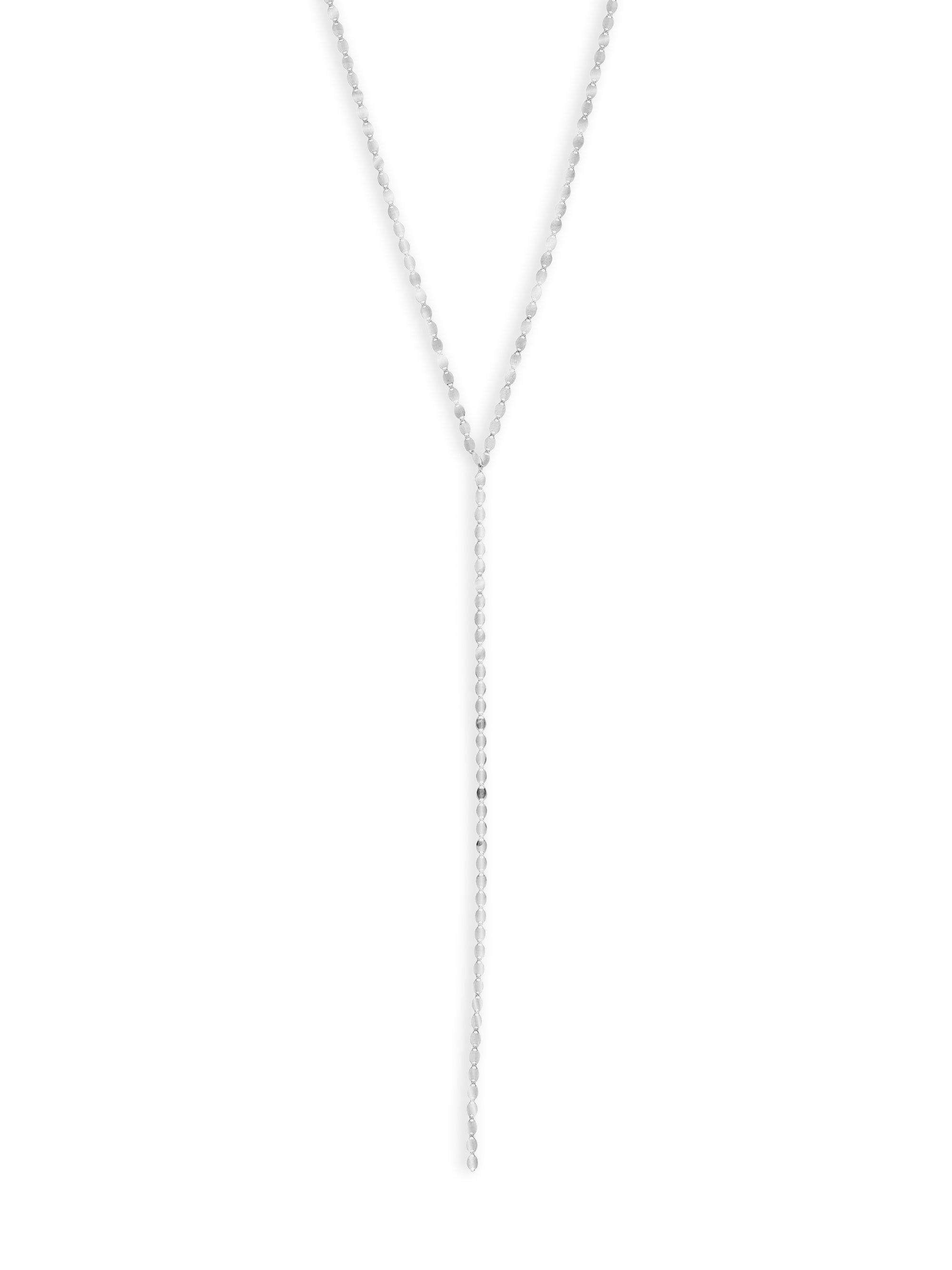 Lana Jewelry Bond Nude 14K Lariat Necklace WeWEnmqe