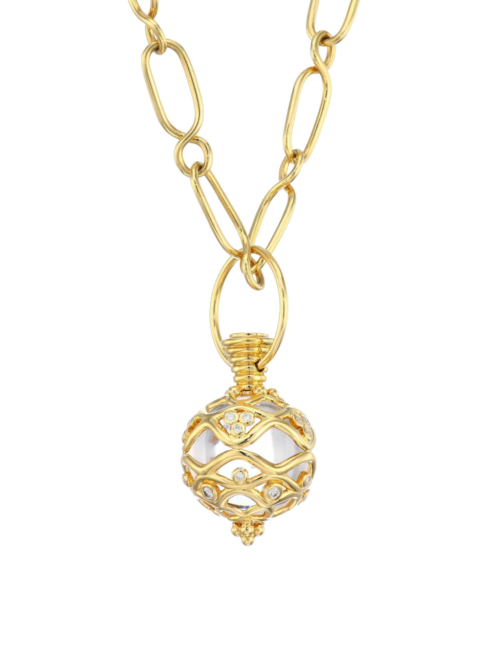 Lyst - Temple St  Clair Natr Recon Theodora 18k Yellow Gold