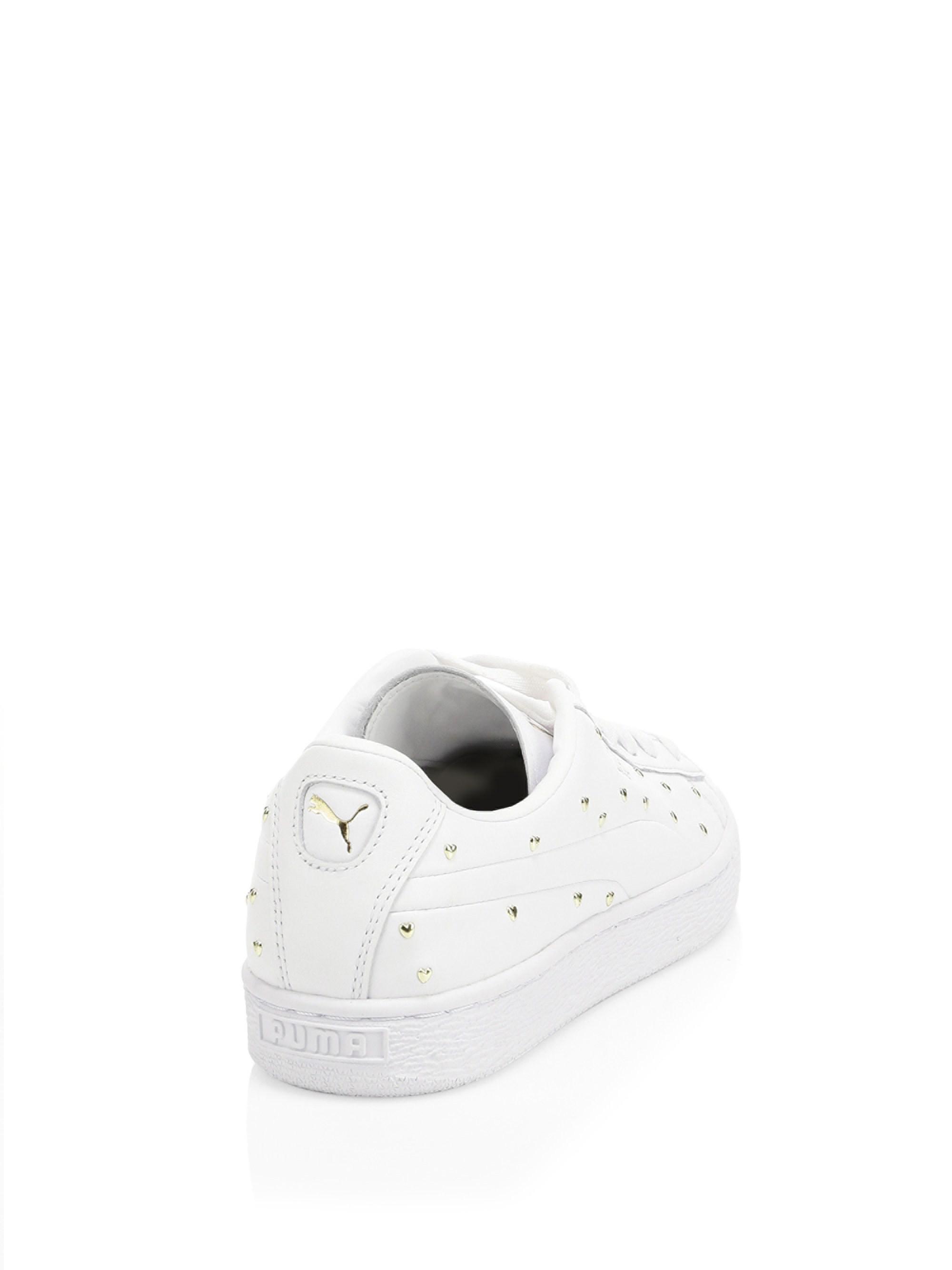puma basket stud sneakers