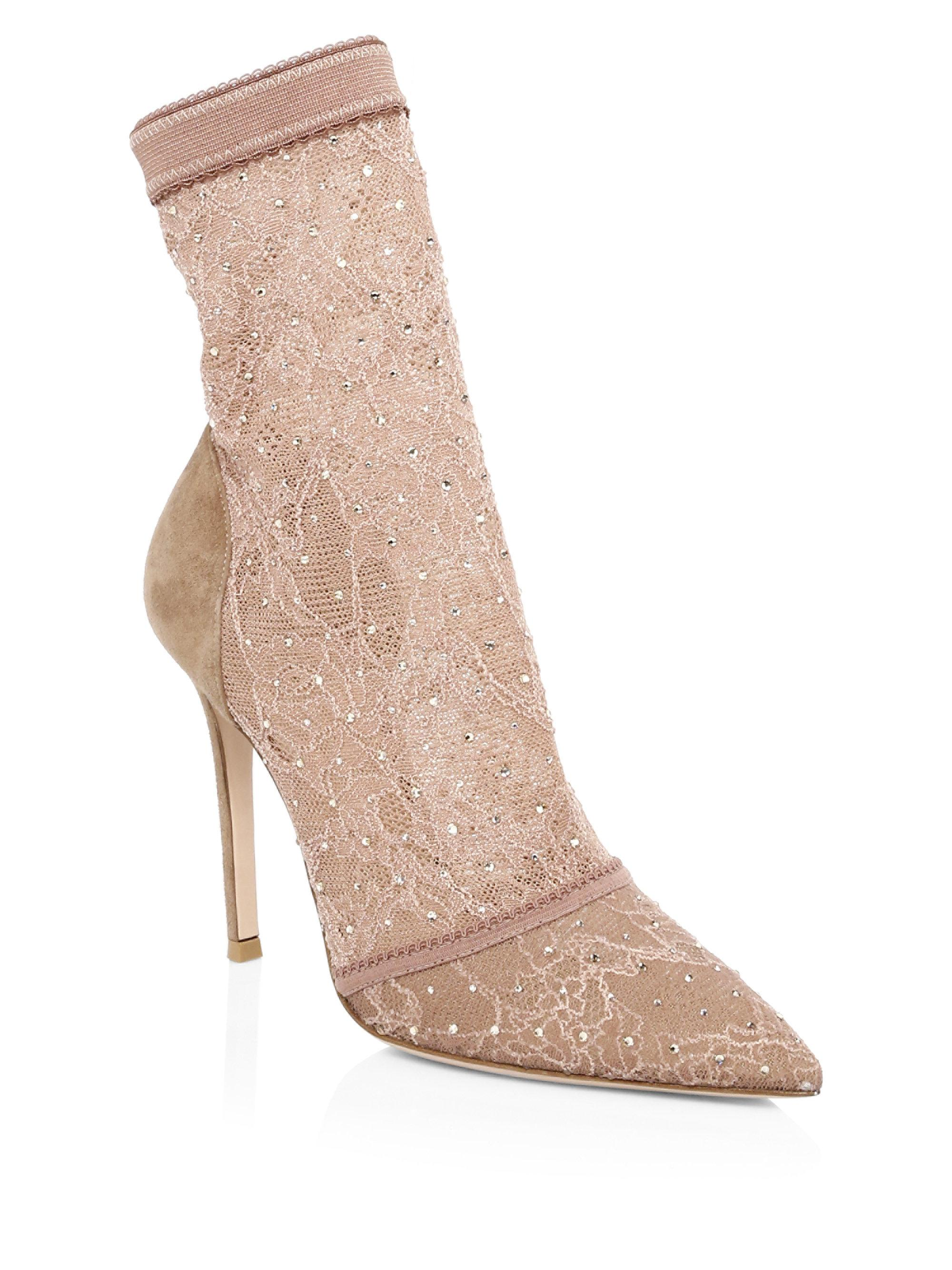 Gianvito Rossi Classic Lace Boots CUhWyjrf