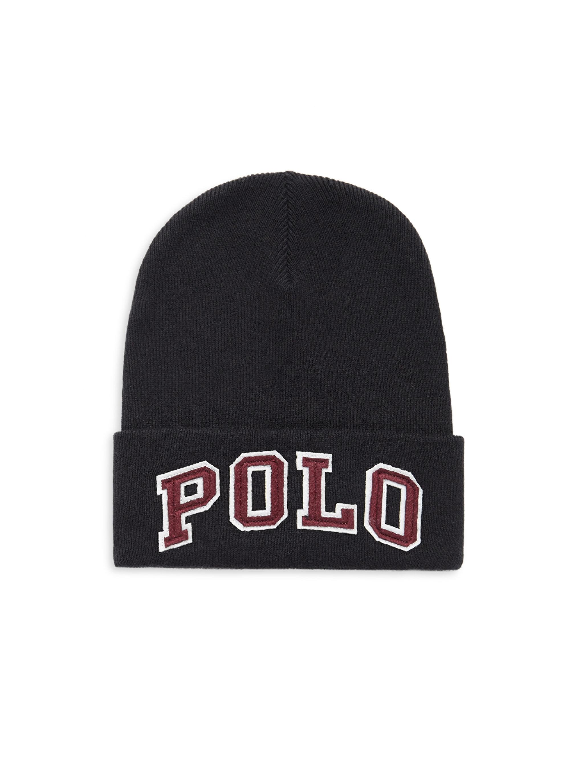 d927ff492cb Gallery. Previously sold at  Saks Fifth Avenue · Men s Ralph Lauren Classic Men s  Beanies ...