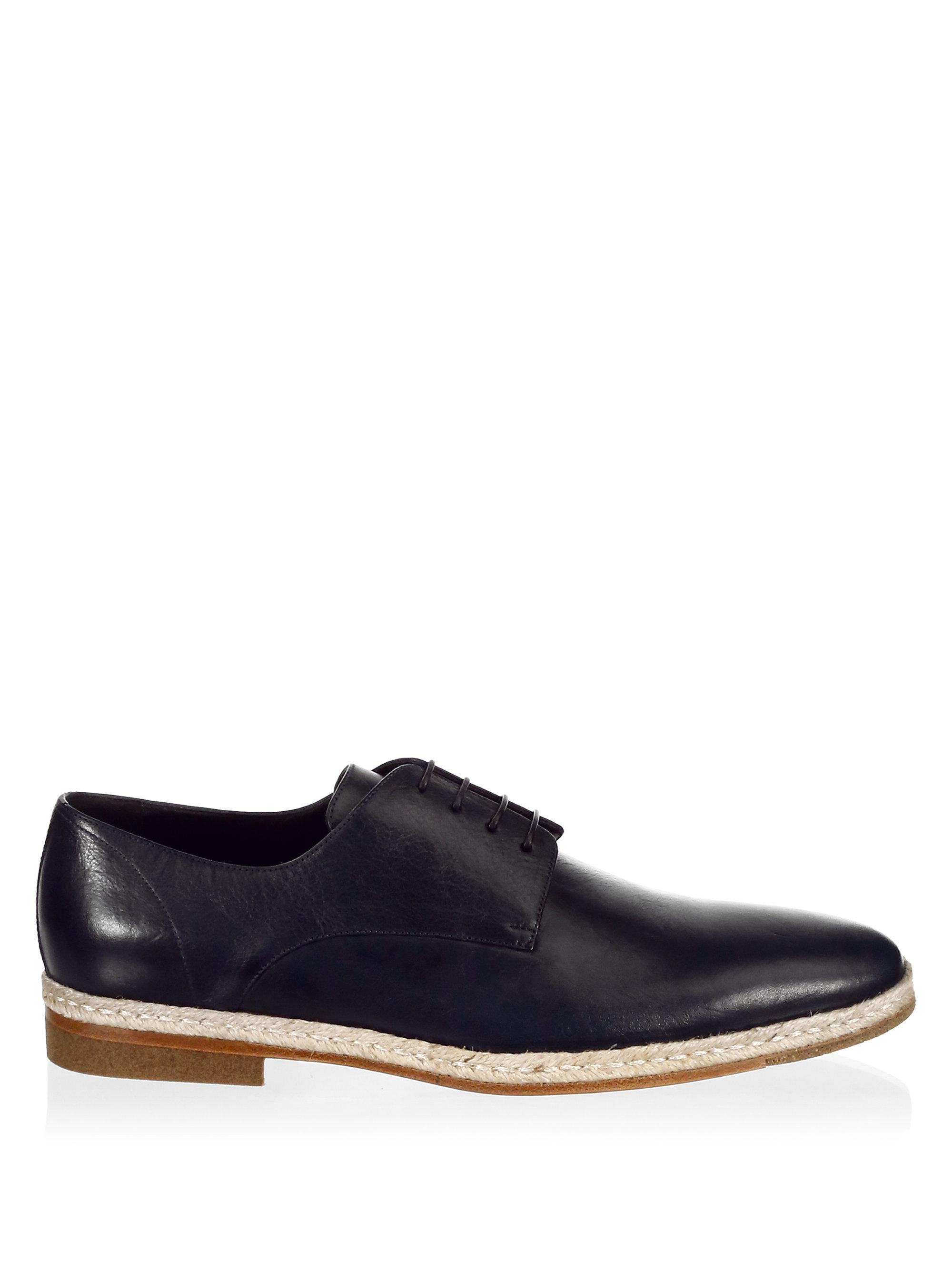 A.TESTONIClassic Leather Derbys 0wbHyMF