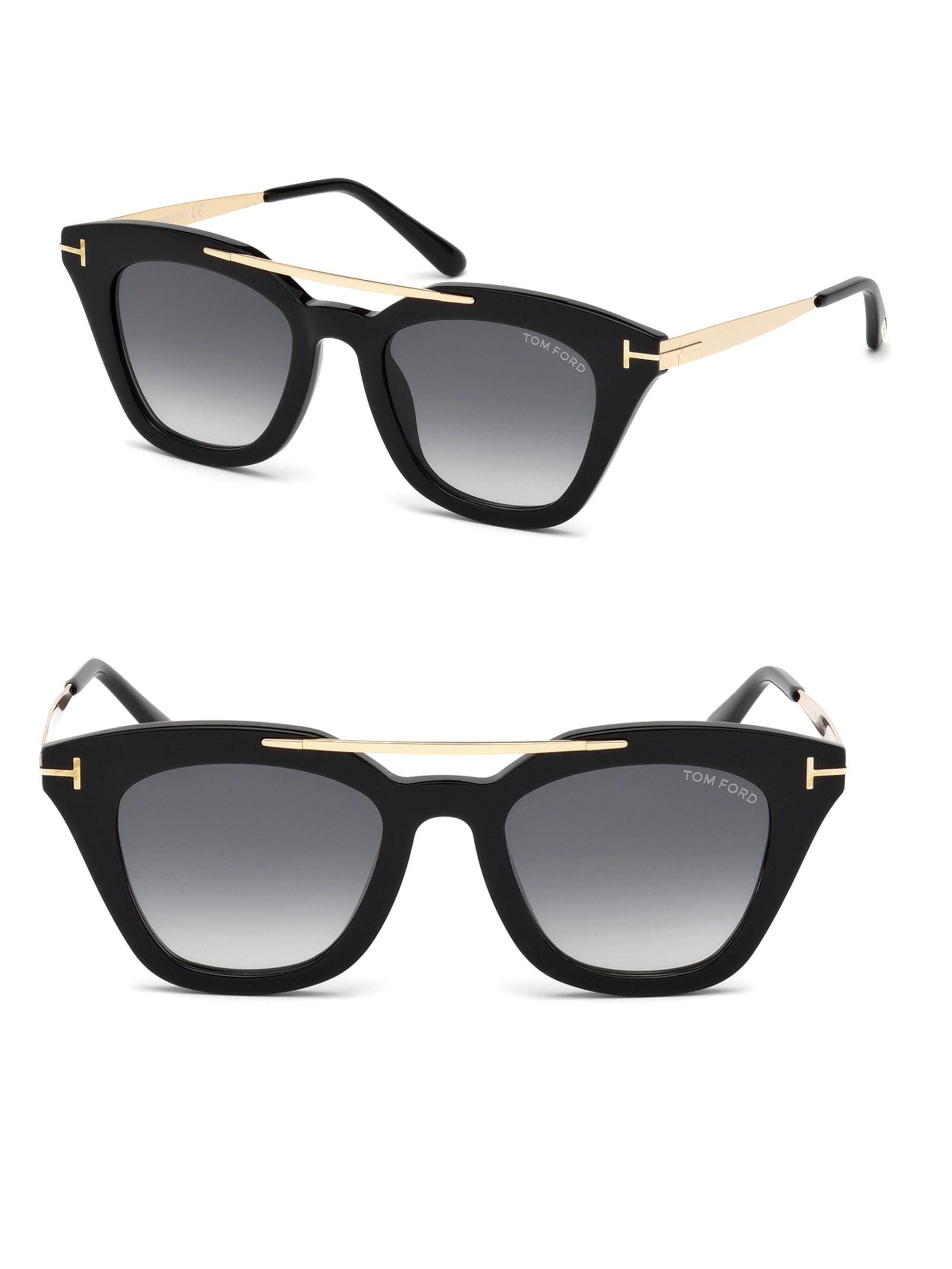 e4fee3c45a0 Gallery. Previously sold at  Saks Fifth Avenue · Women s Cat Eye Sunglasses  Women s Tom Ford ...
