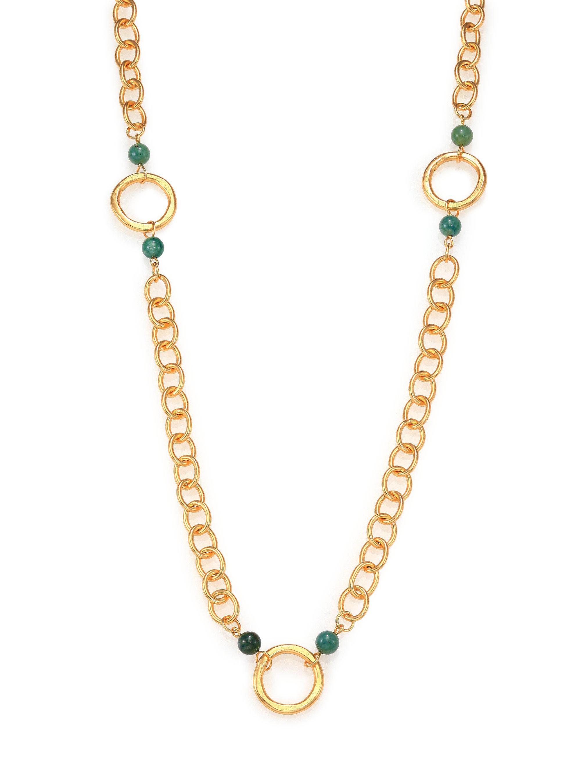 Stephanie Kantis Beaded Lavish Necklace rFubPLEX