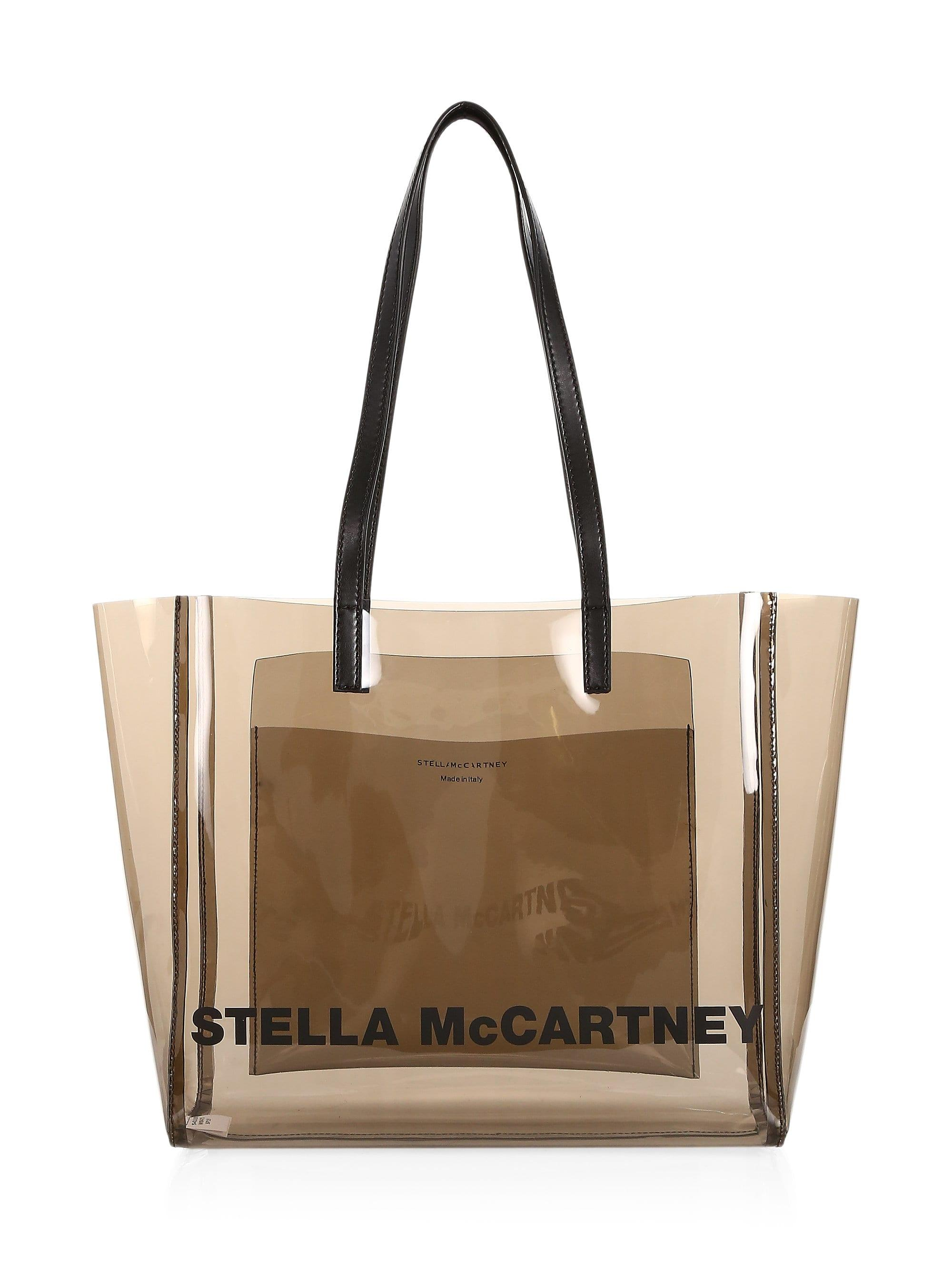01827a2f38a Stella McCartney - Multicolor Small Clear Tote Bag - Lyst. View fullscreen
