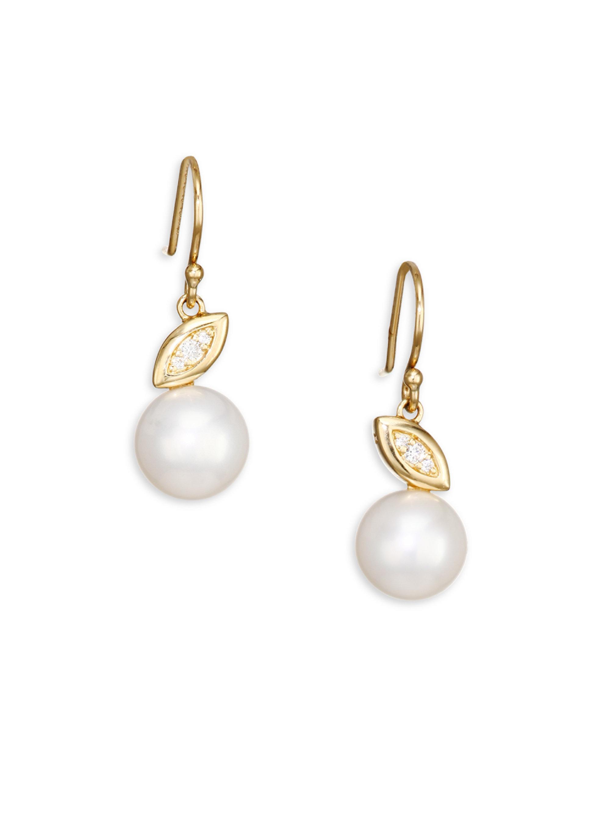 Nova 18-karat Gold Pearl Earrings - one size Ippolita cvHak