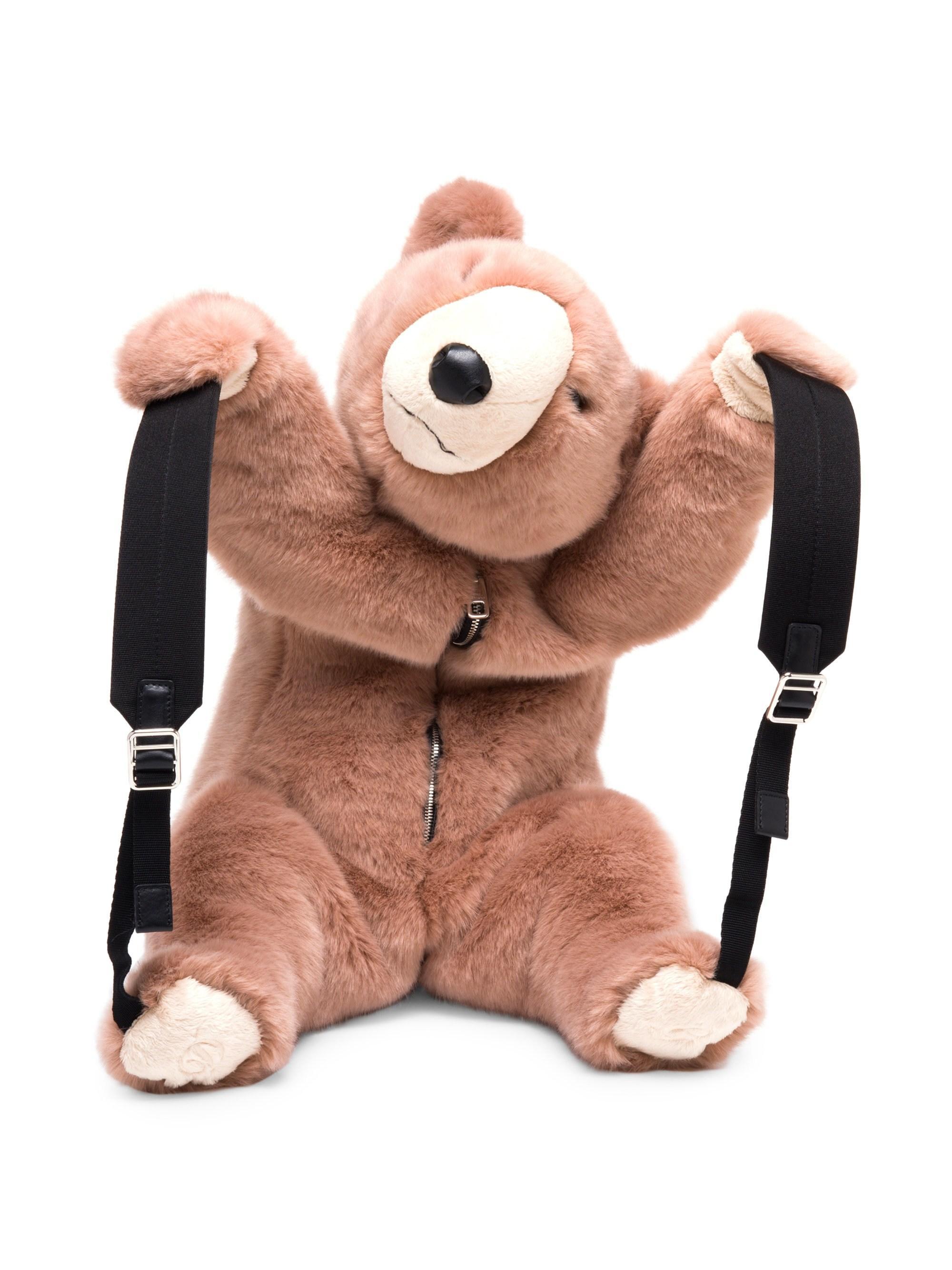 Dolce   Gabbana Faux Fur Teddy Bear Backpack - Lyst fc6a3e39e0ed6