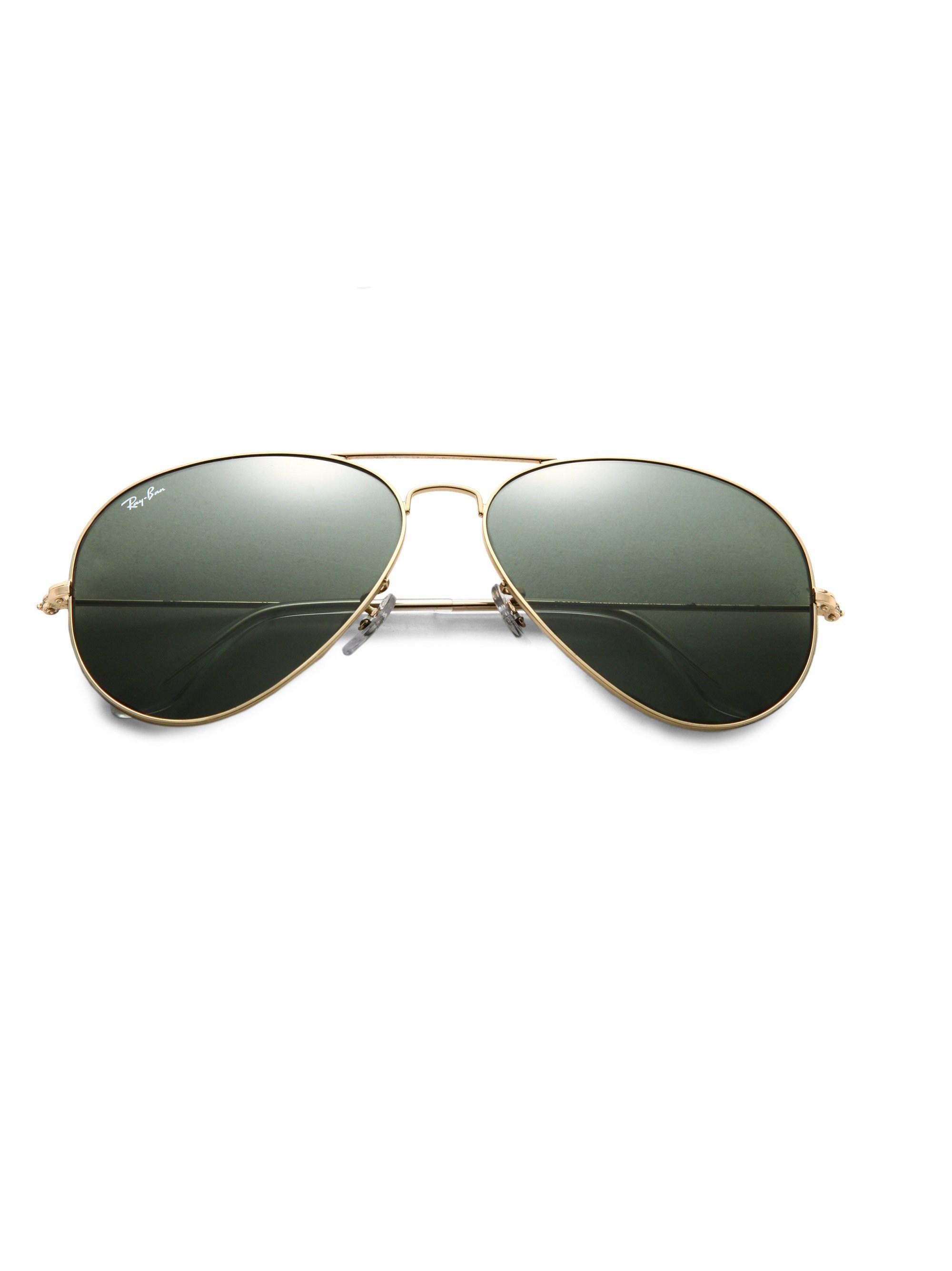 942d8771cf Lyst - Ray-Ban Men s Original 62mm Aviator Sunglasses - Gold in ...