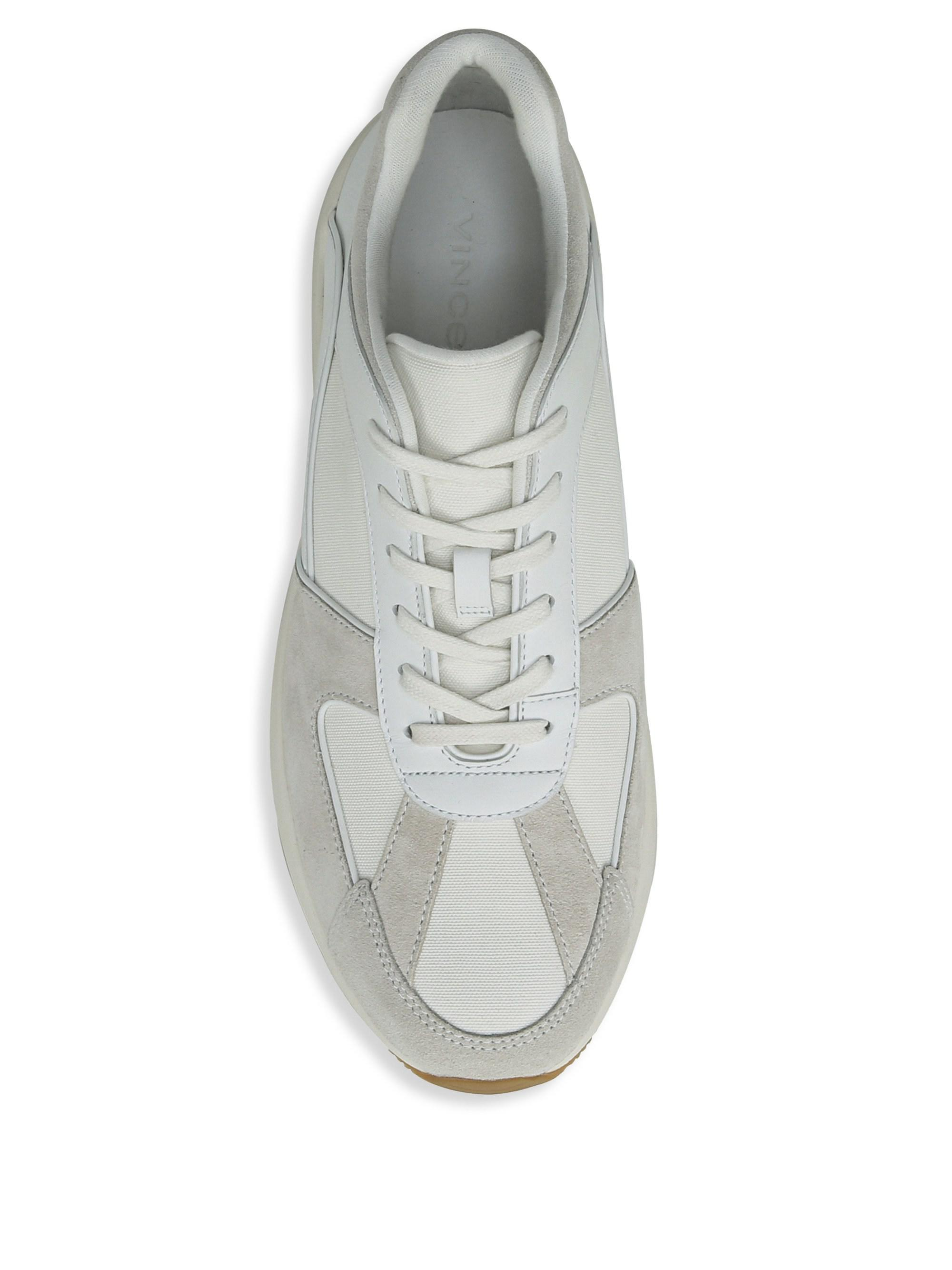Vince Griffin Suede \u0026 Leather Sneakers