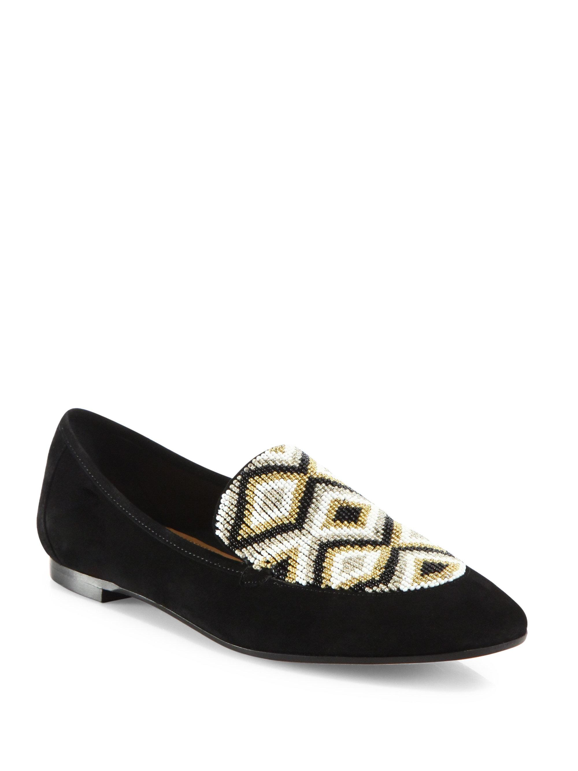 Chloé Black Nocturnal Loafers