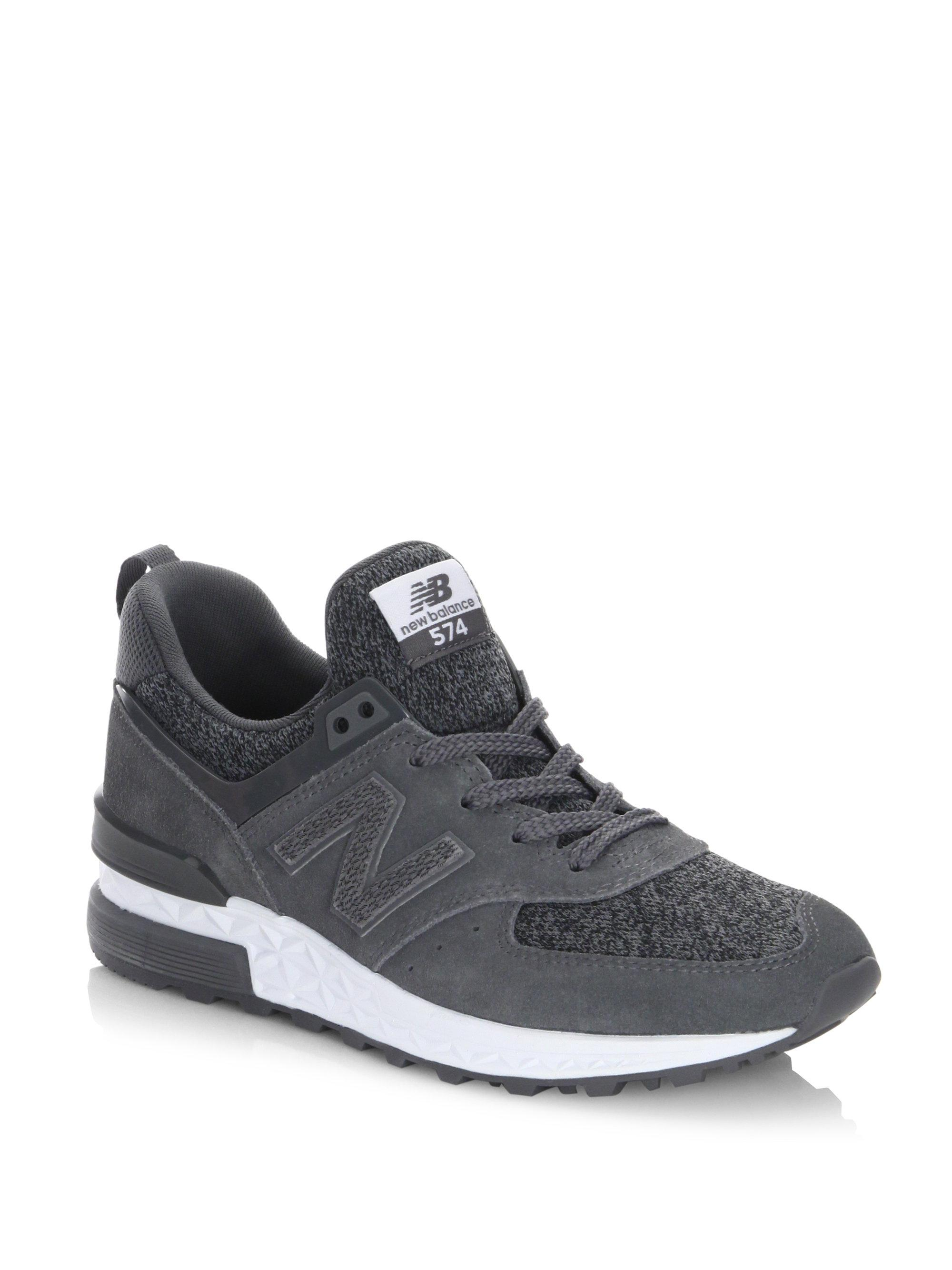 new arrival a5bb0 be909 New Balance Suede 547 Sport Sneakers in Grey (Gray) - Lyst