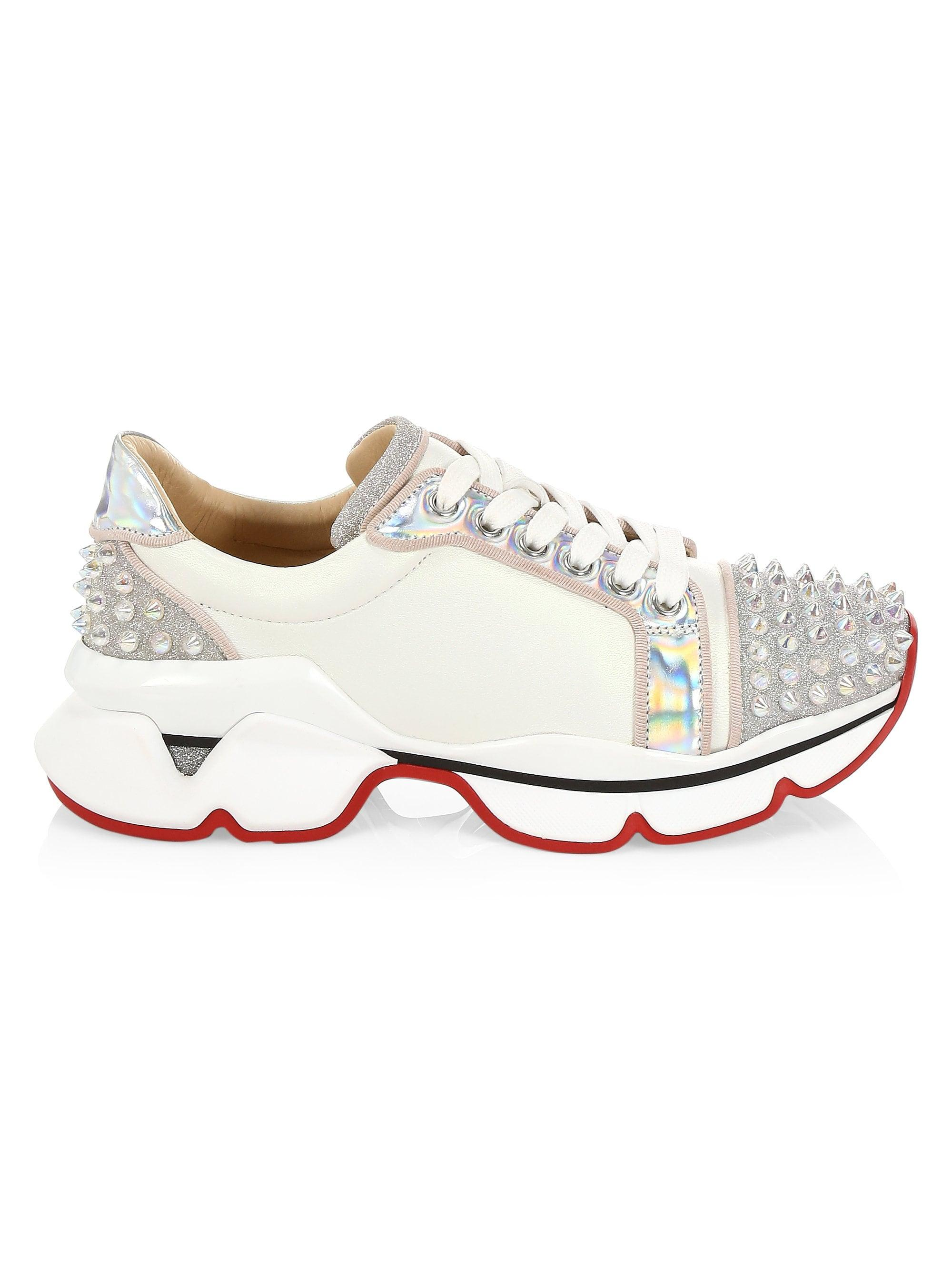 3f5eee8102b Women's White Orlato Spike Sneakers