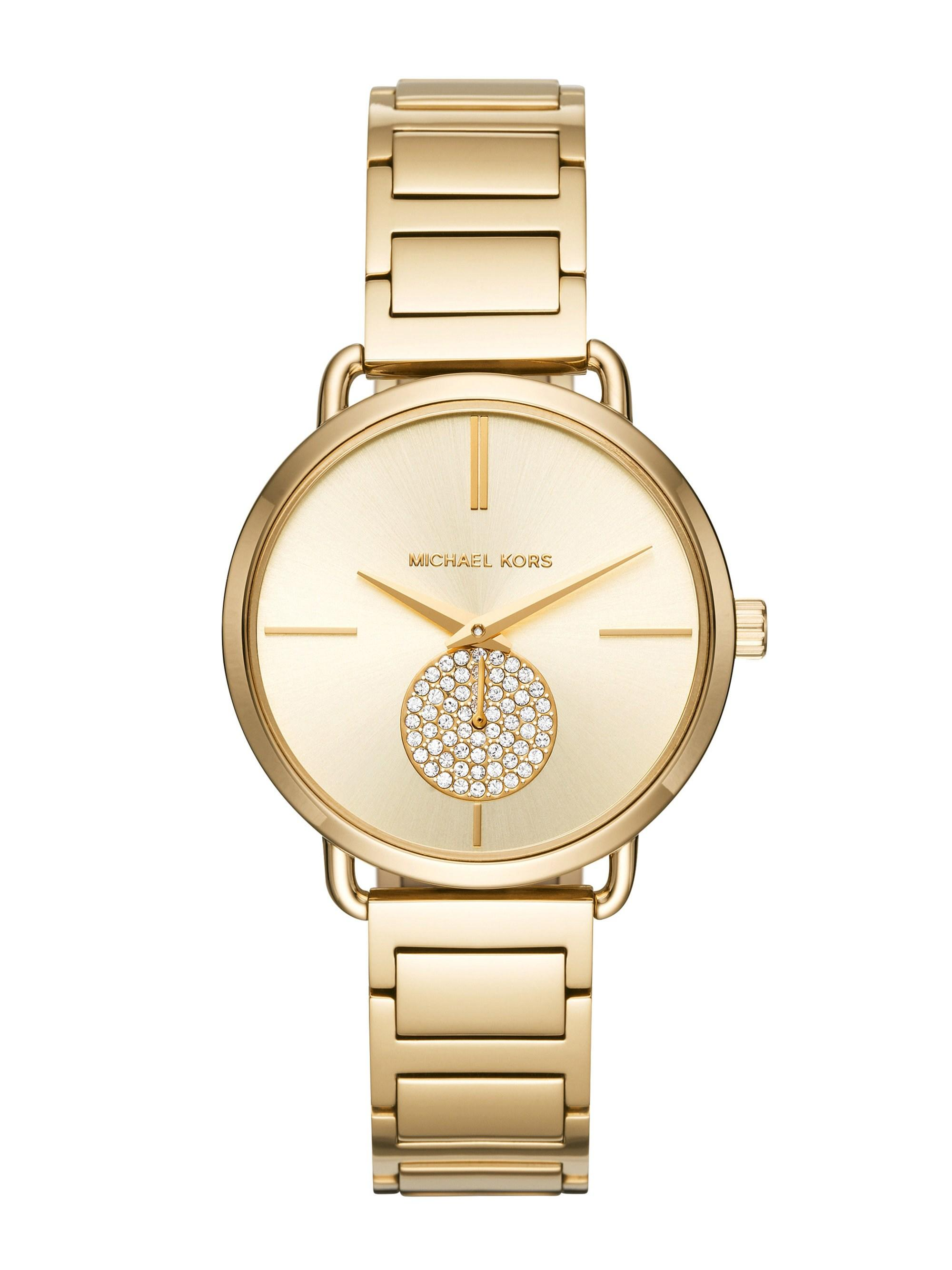 2cbf6e3971df Michael Kors - Metallic Wrist Watch - Lyst. View fullscreen