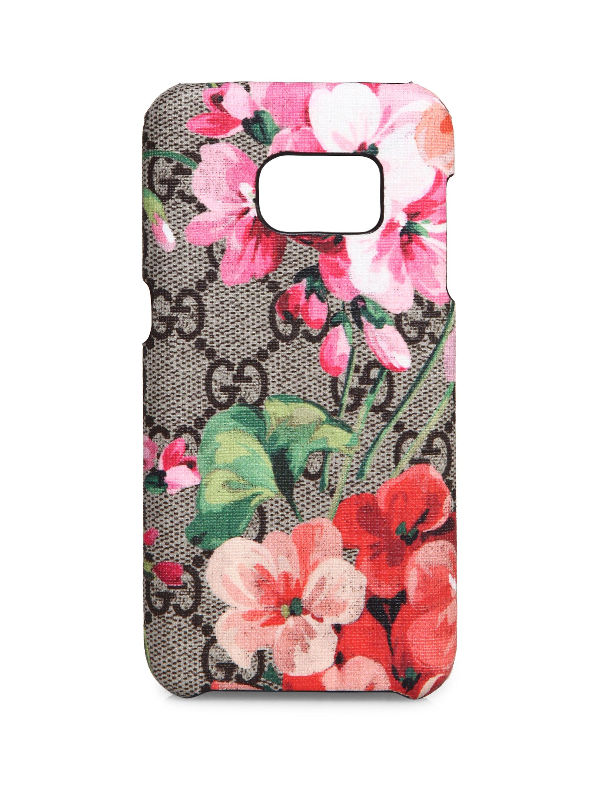 brand new d1847 10d48 Gucci Multicolor Gg Blooms Samsung S7 Phone Case