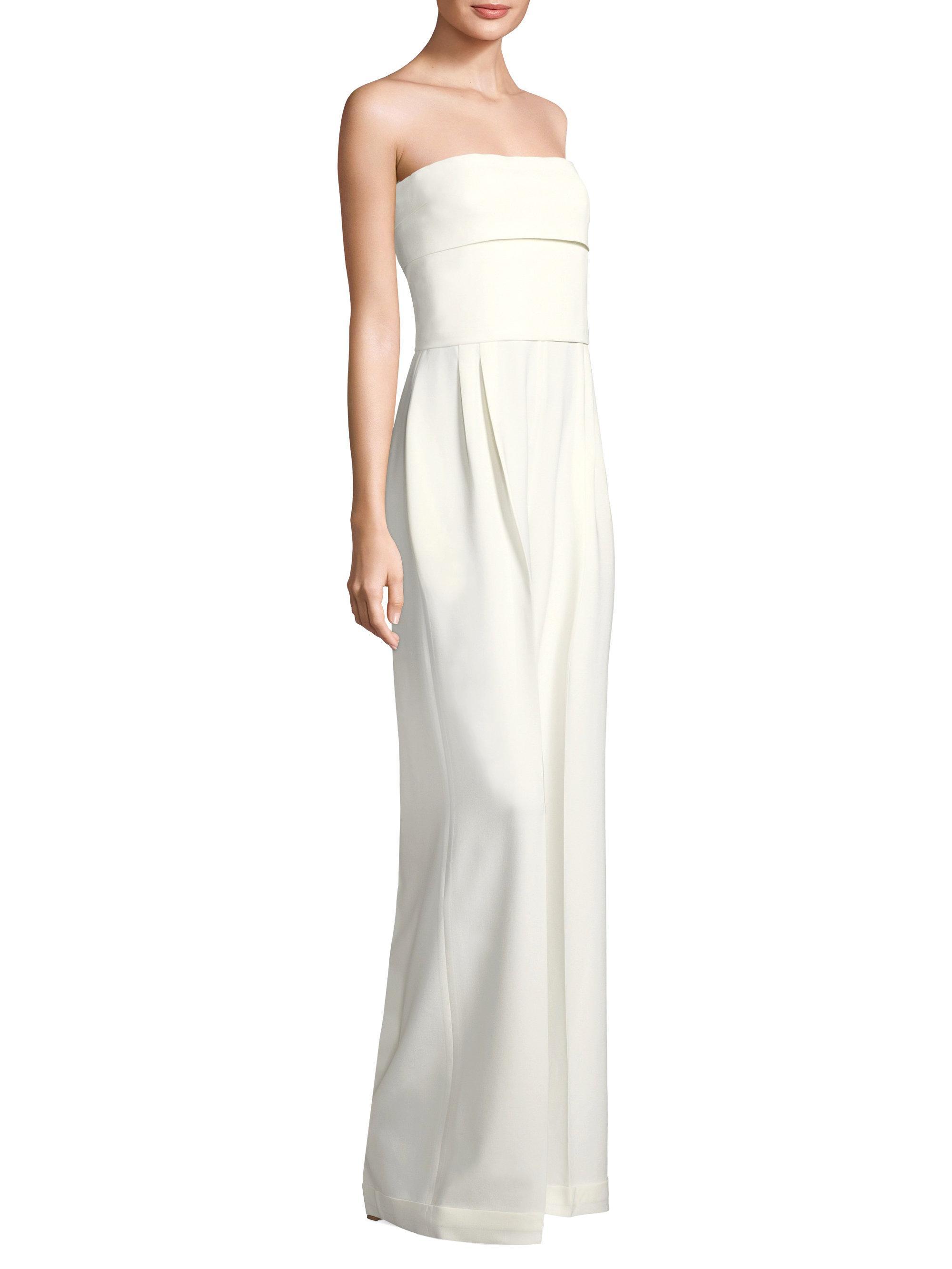 5e4f4b536a7 Lyst - Max Mara Edo Jumpsuit in White