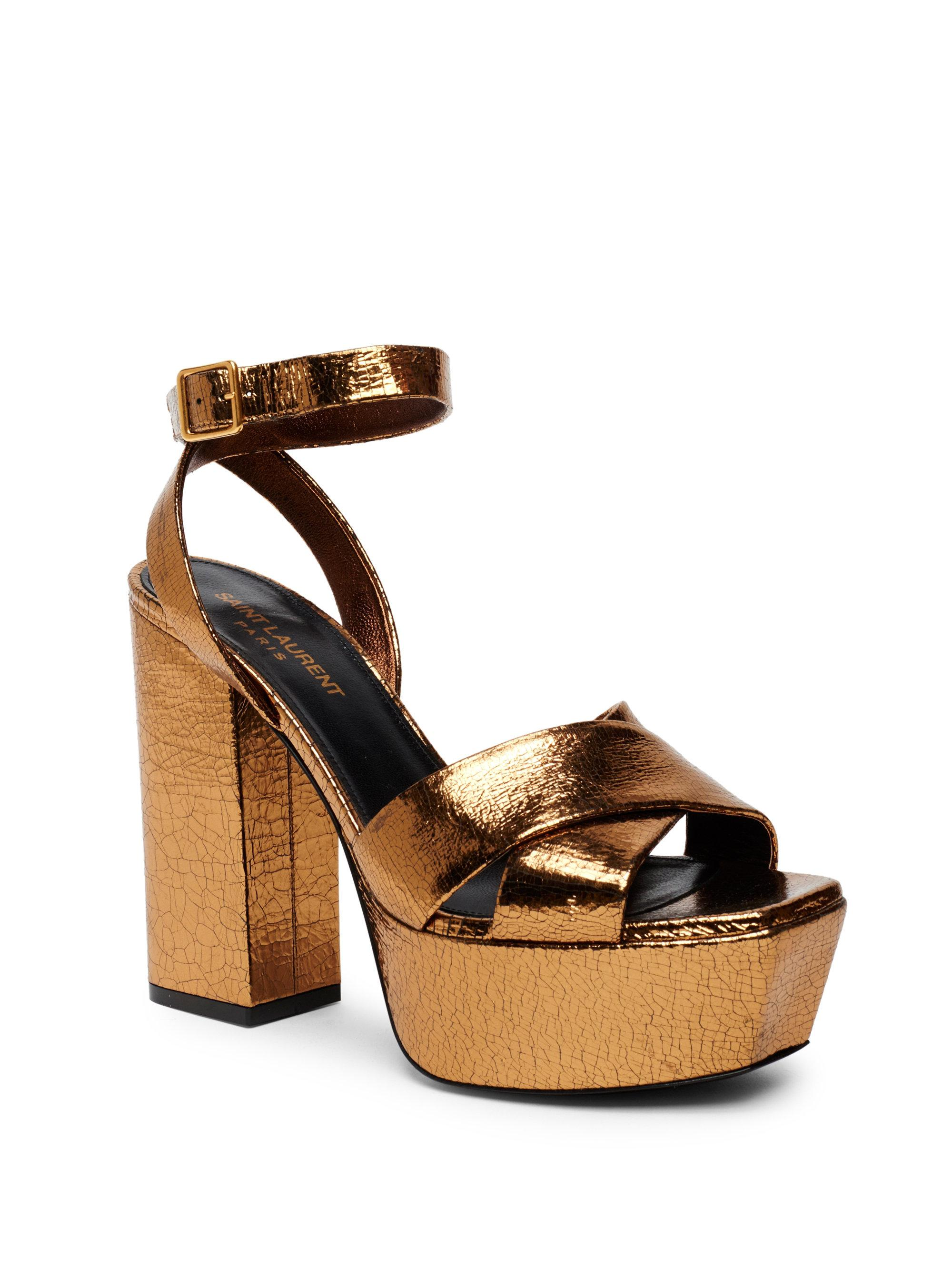 af1a694e9b2f Saks Saint Laurent Mens Shoes