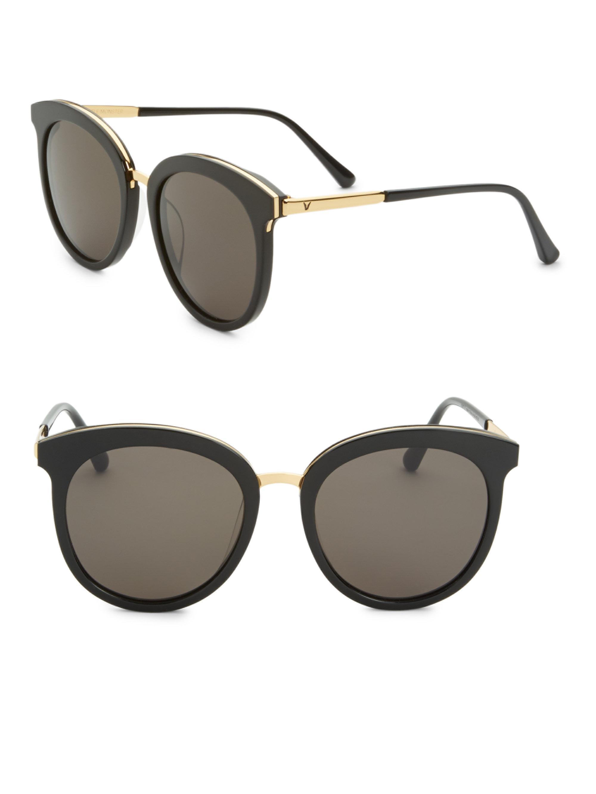 7e54a9fa6a Gentle Monster Someone Tale 55mm Sunglasses in Black - Lyst