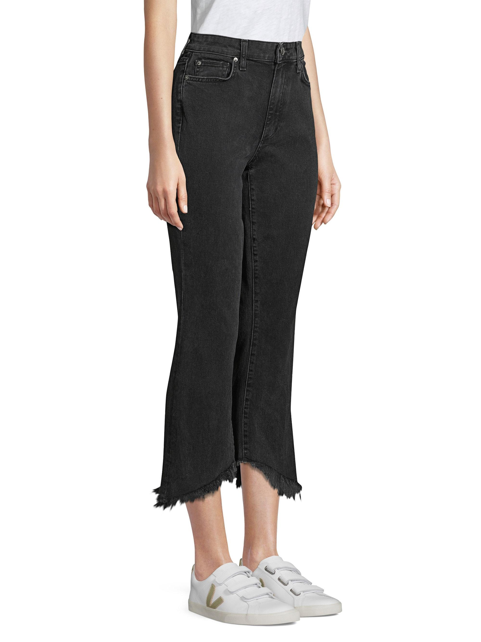 c488a889ed Lyst - Joe's Jeans Callie High-rise Cropped Bootcut Jeans in Black