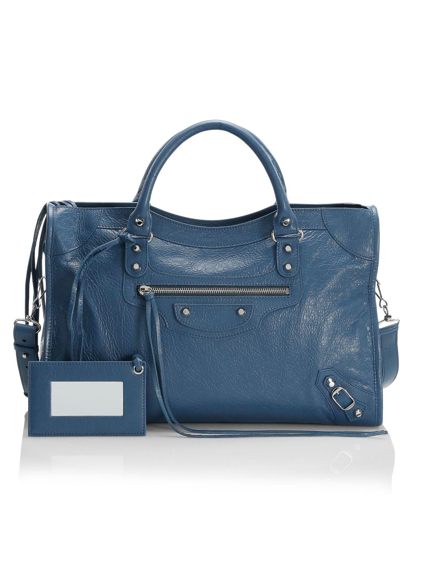 Balenciaga Medium Classic City Leather