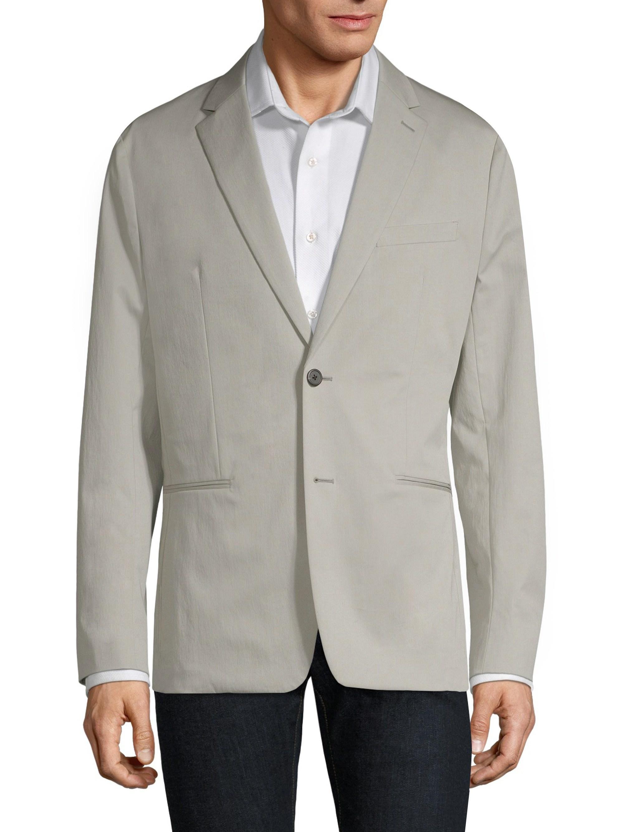 19313798ee4 Theory Men's Slim-fit Newson Sartorial Stretch Jacket - Ash in Gray ...