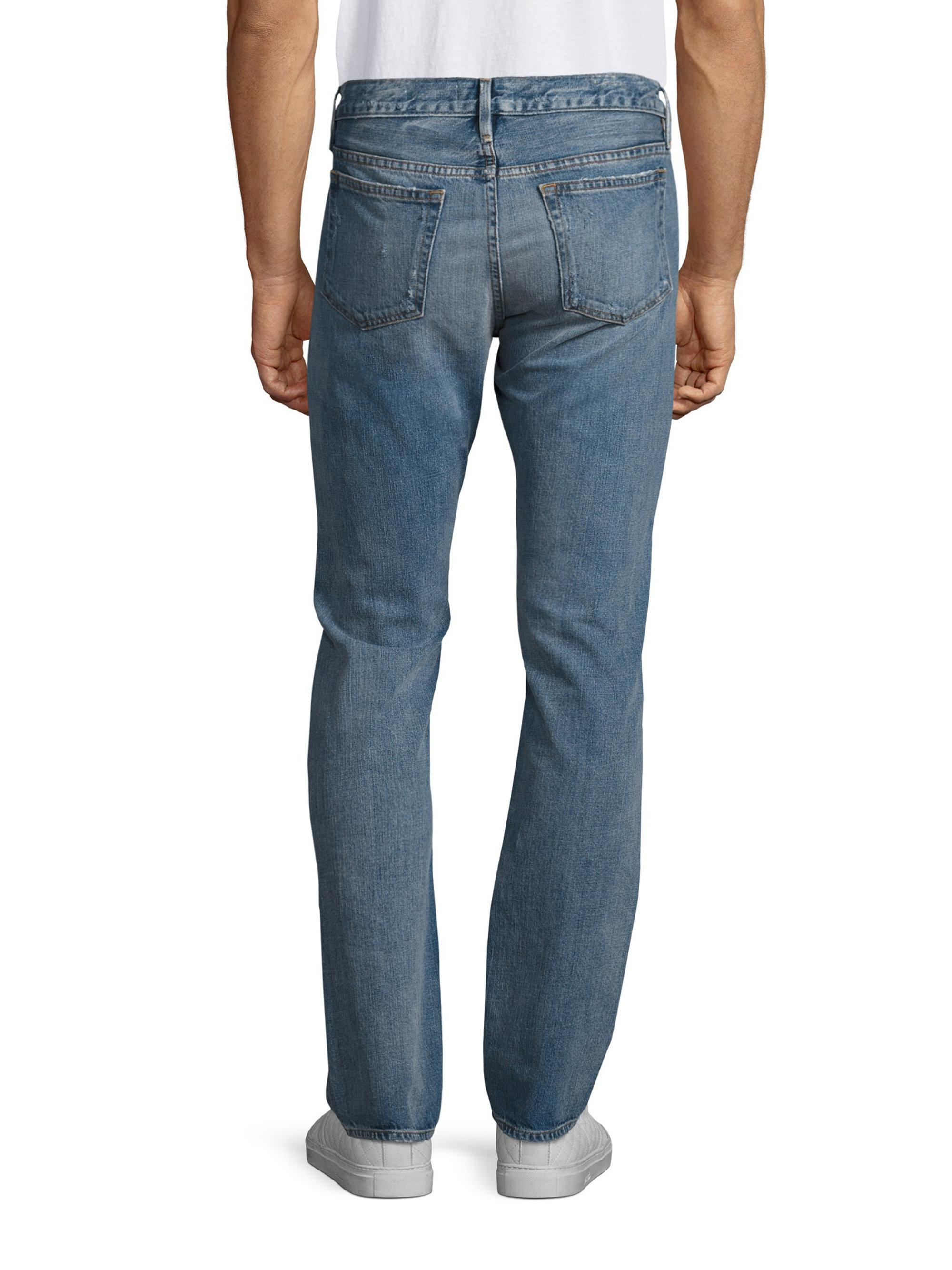 Frame L homme Slim-fit Jeans in Blue for Men - Lyst 070b1b2a2949