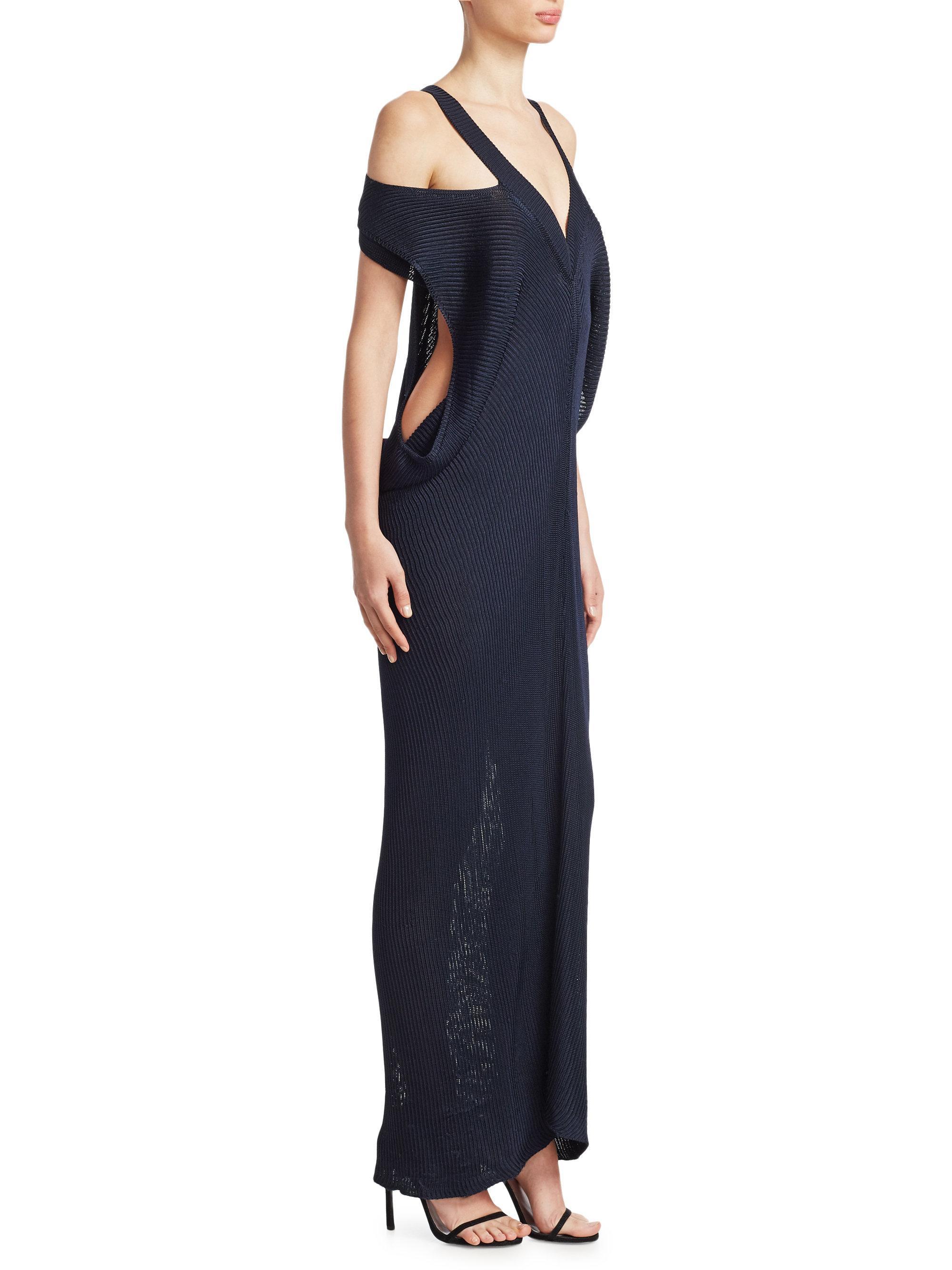 Ribbed knit dress Roberto Cavalli Explore For Sale Clearance New 2GjeS