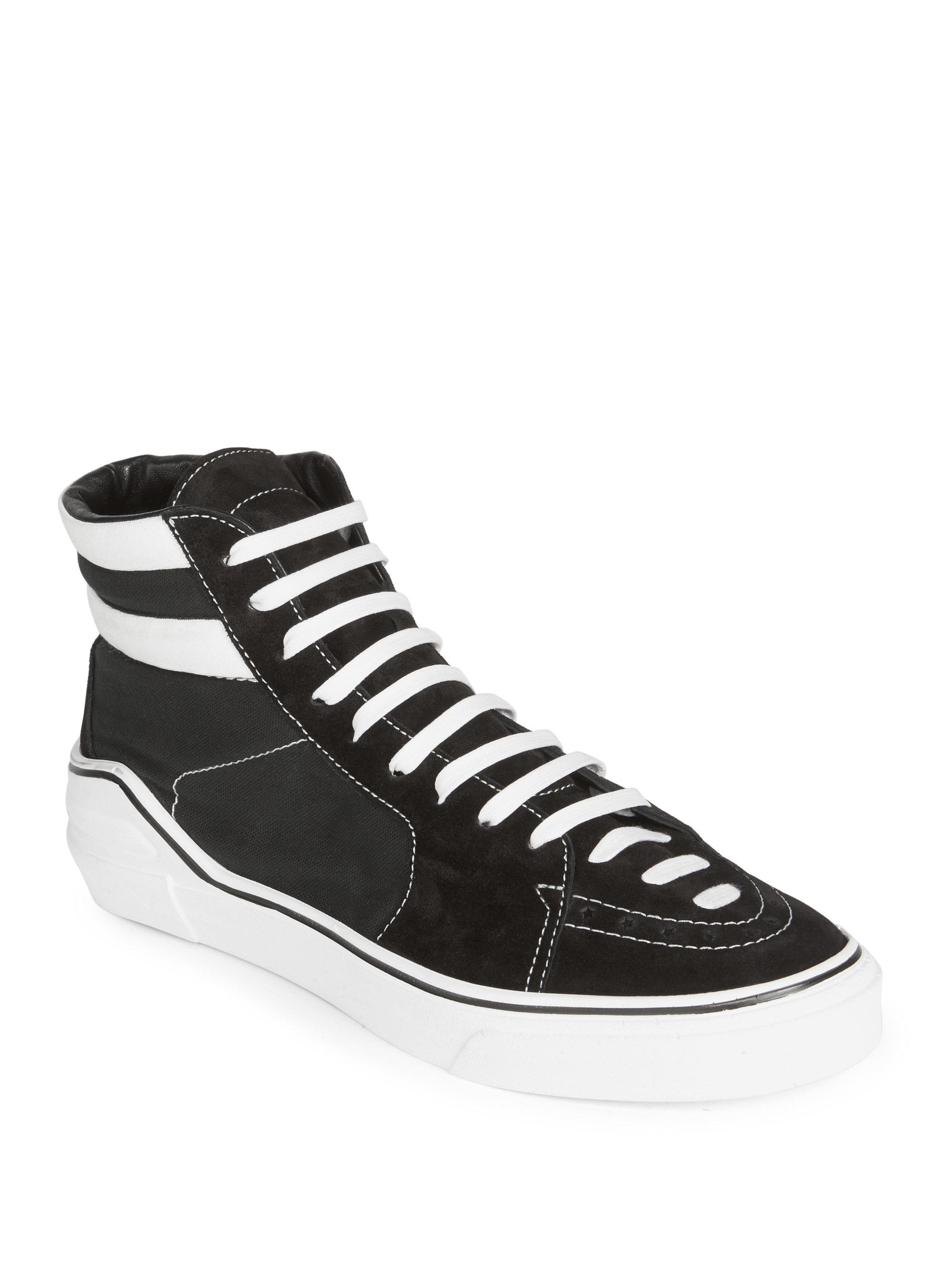 GivenchyMid-Top Suede Sneakers ZPFcniD