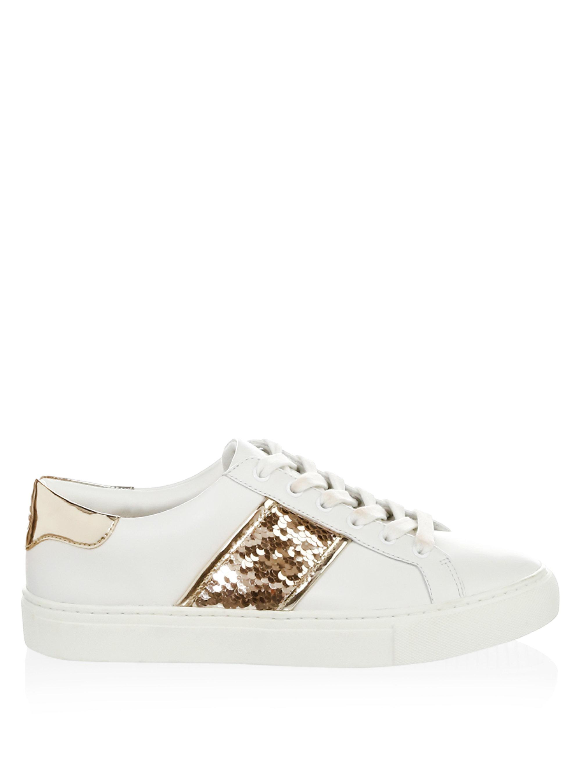 Tory Burch Carter Sequin Leather