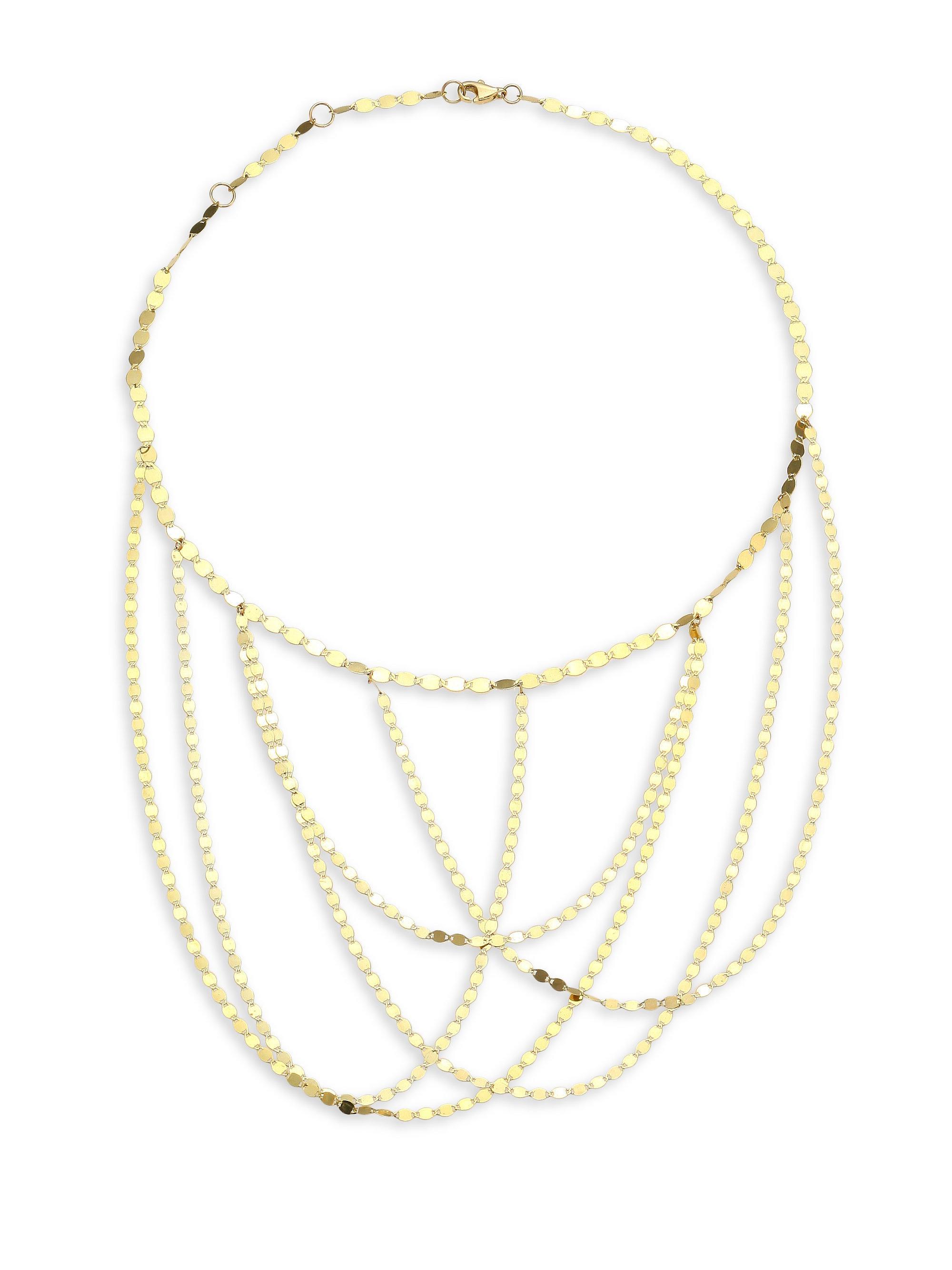 Lana Nude Square Chain Bracelet in 14K Gold