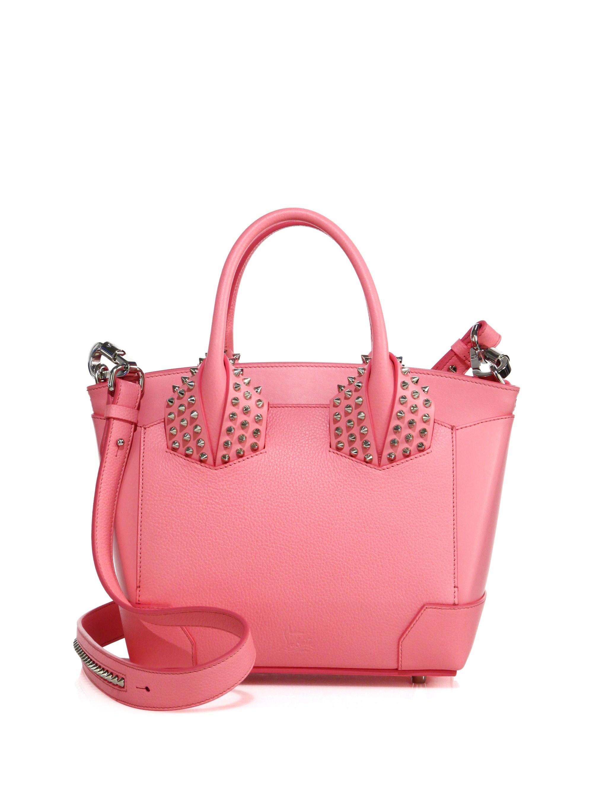 5ad401c520c Christian Louboutin Women's Eloise Small Studded Leather Satchel ...