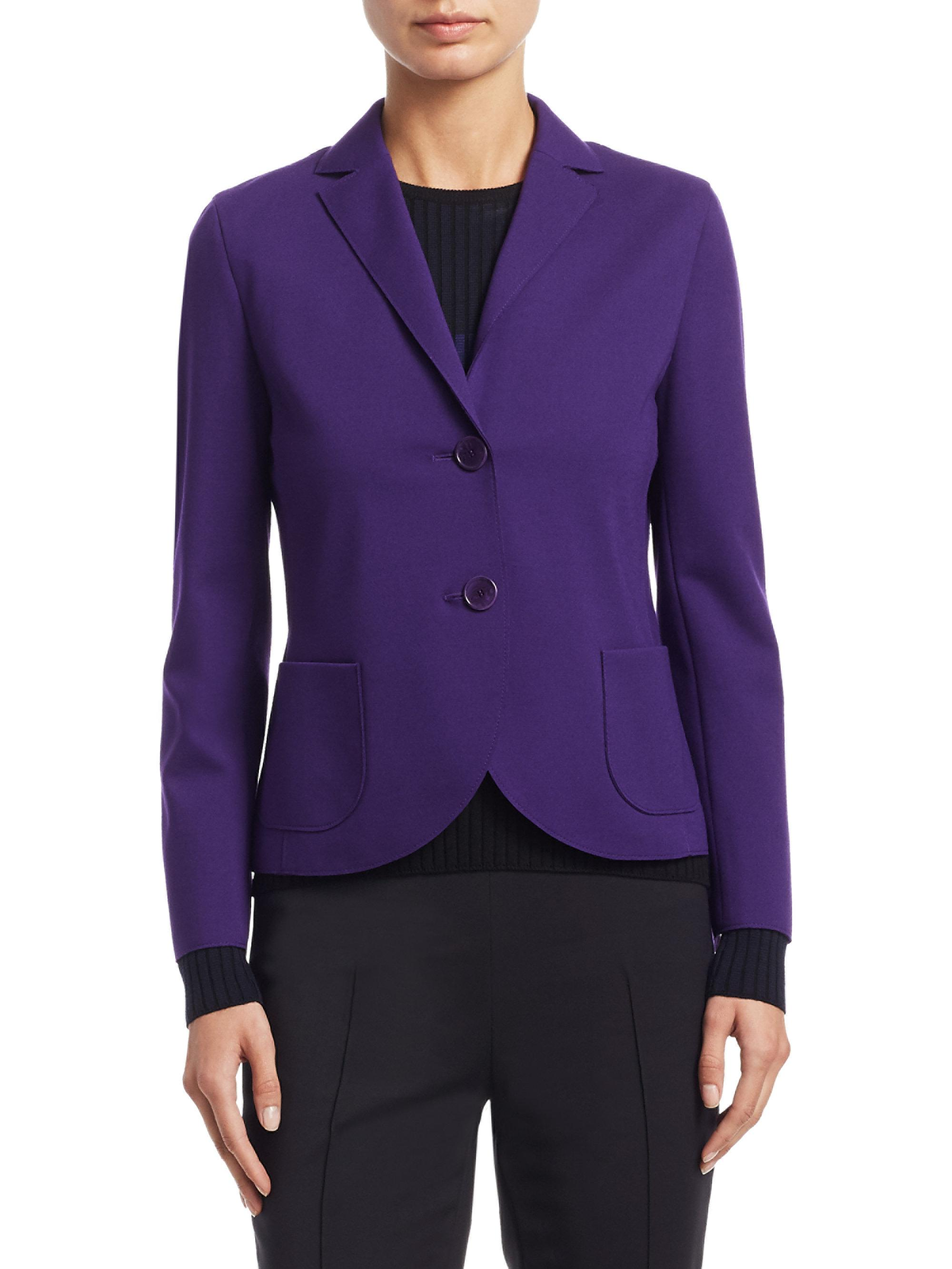 Akris Punto classic blazer Visa Payment Cheap Online Inexpensive Online Wide Range Of Sale Online UKUocnM
