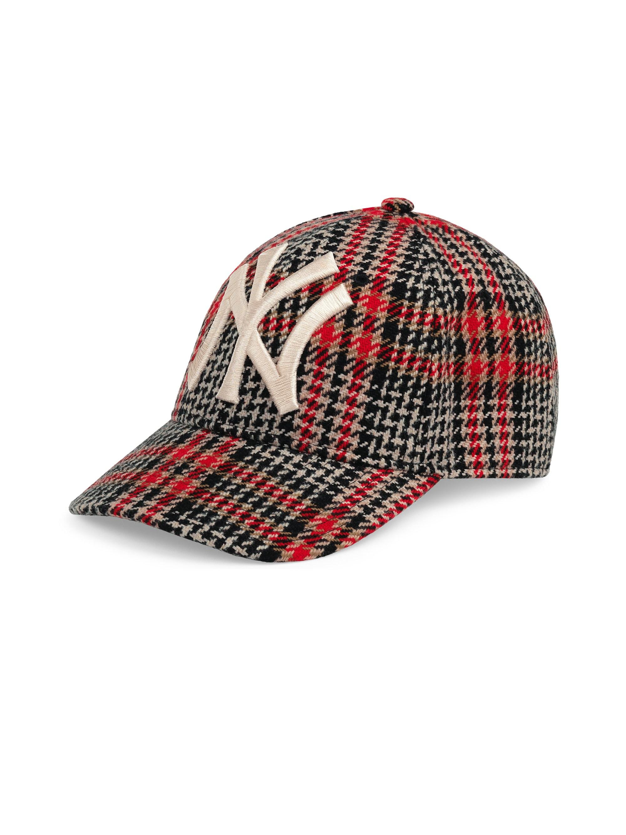 c060f45e Gucci Men's New York Yankees Diamante Baseball Cap - Black Red in ...