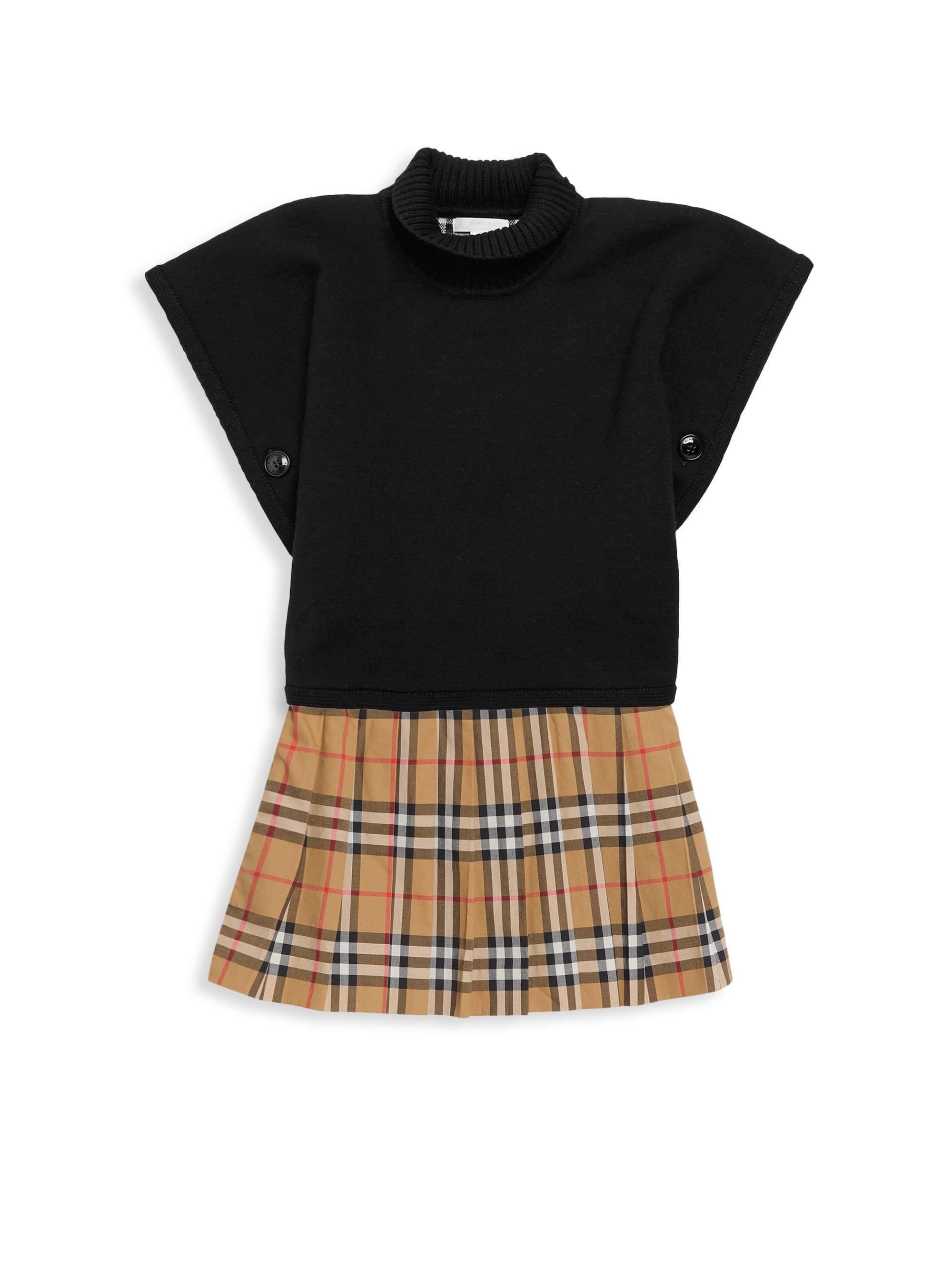 6a9286fcd Lyst - Burberry Little Girl's & Girl's Tartan A-line Skirt